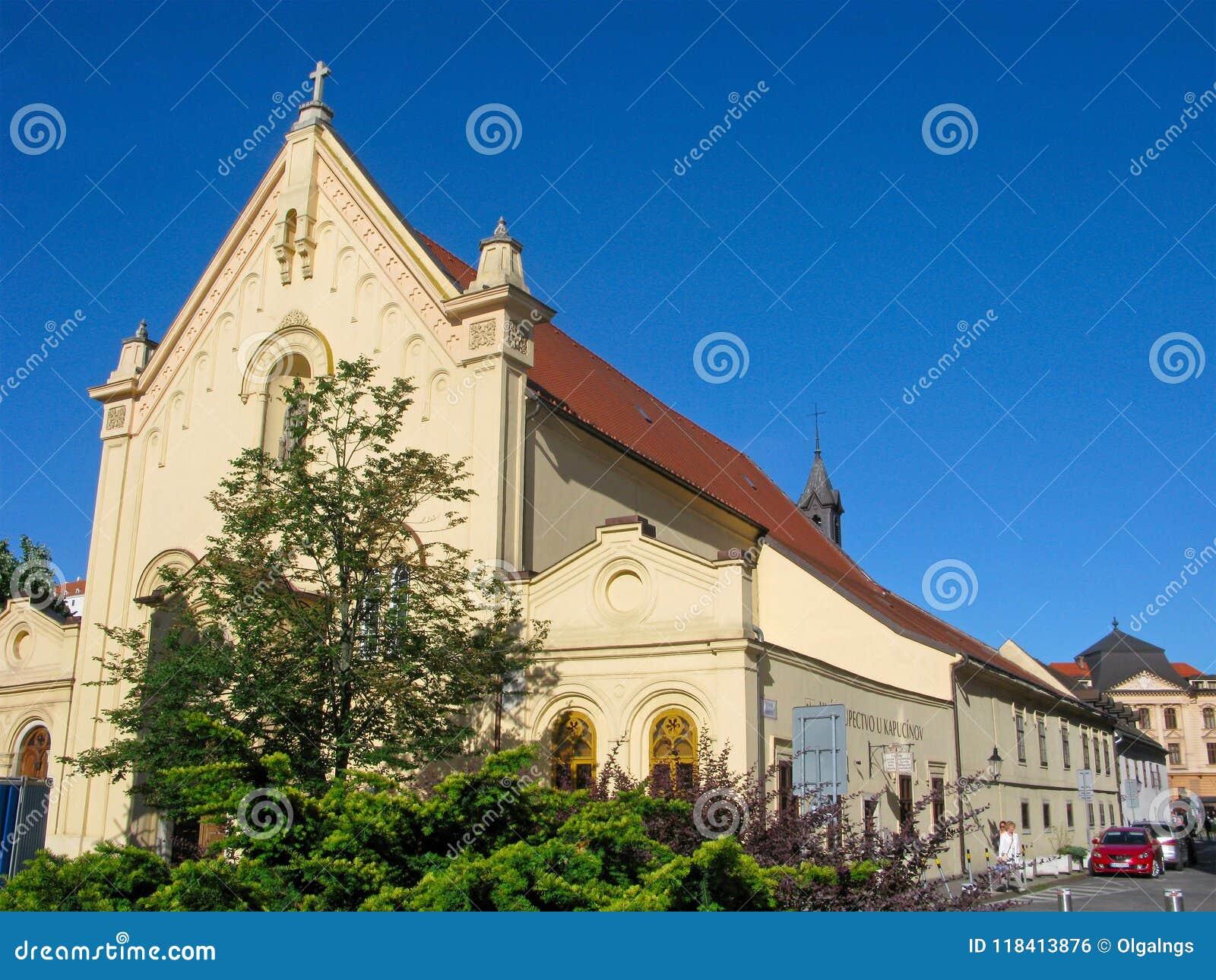 Церковь St Stephens, Братислава, старый городок, Словакия