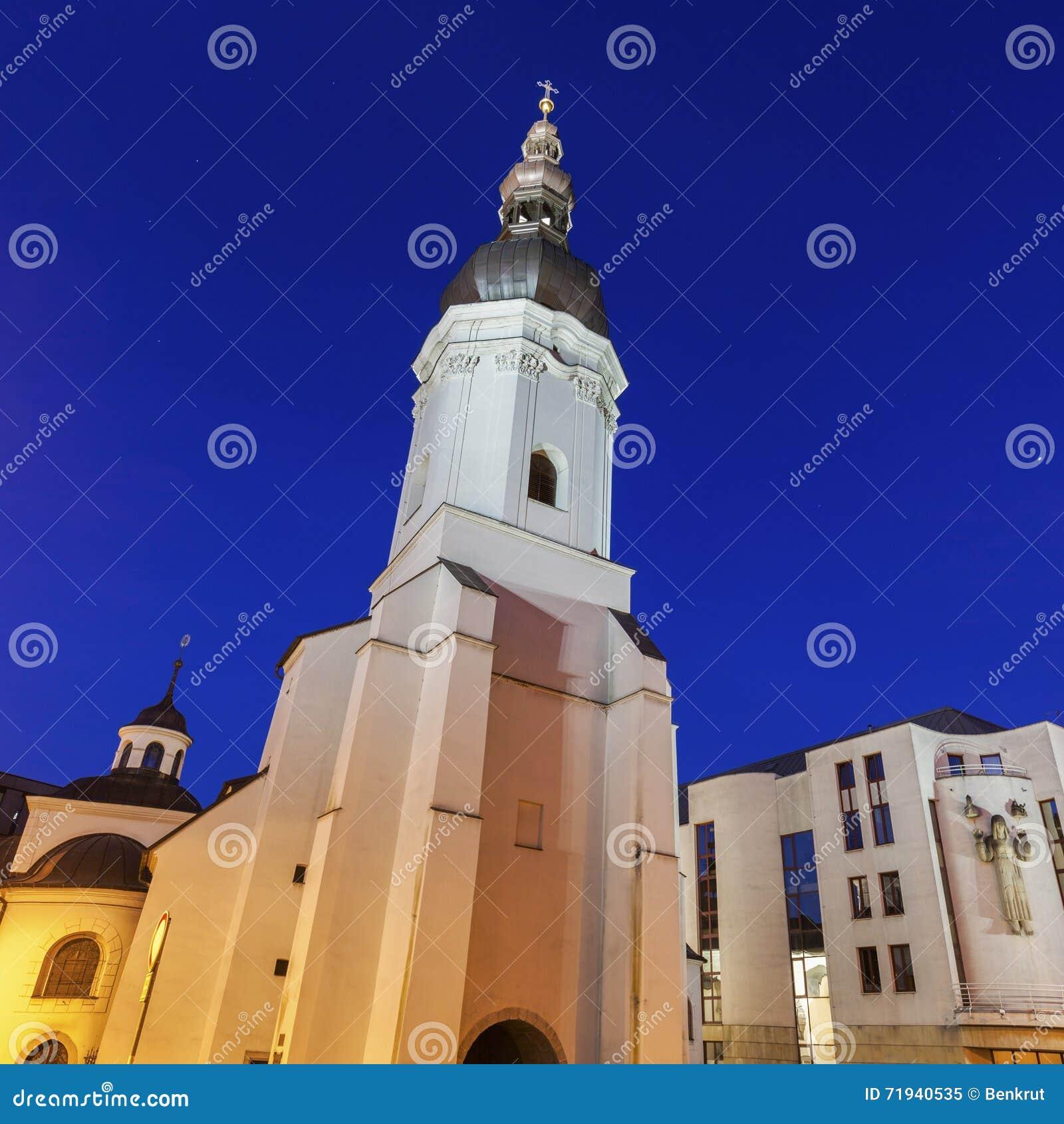 Церковь St Vaclav в Остраве