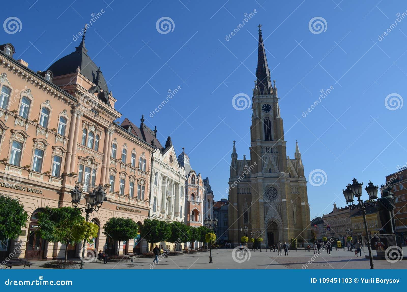 The церков Mary novi унылая Сербия