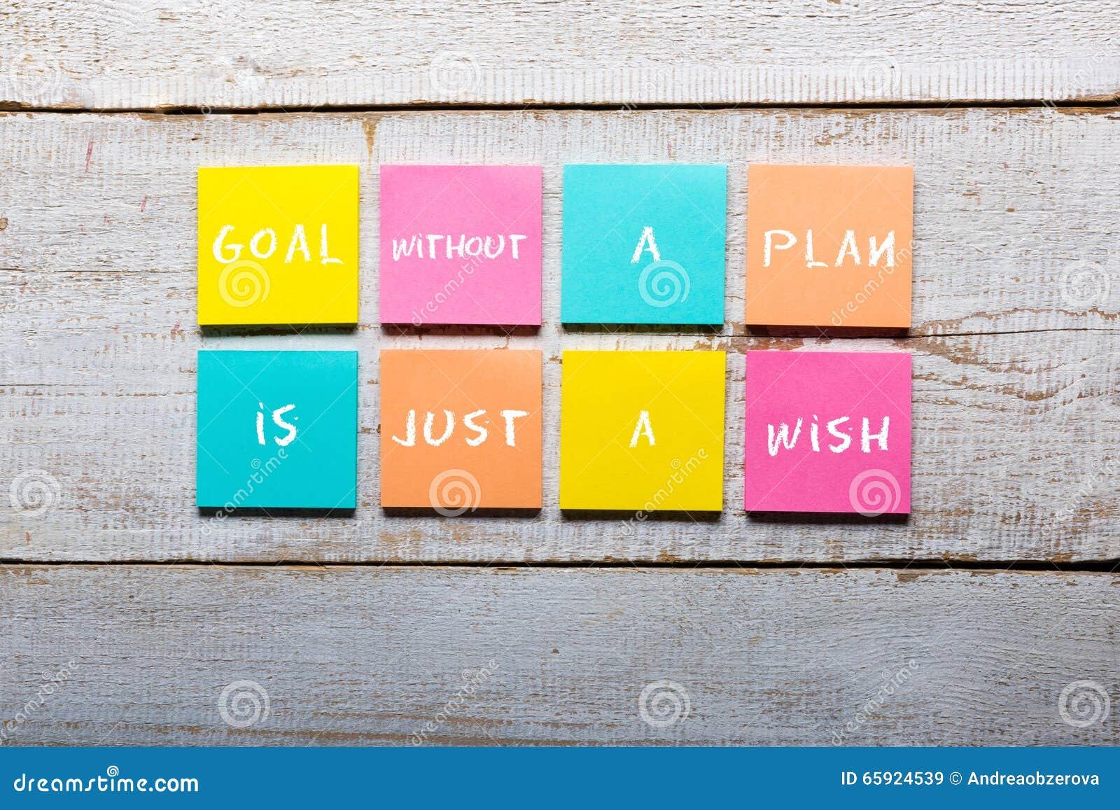 Цель без плана как раз желание - мотивационный почерк