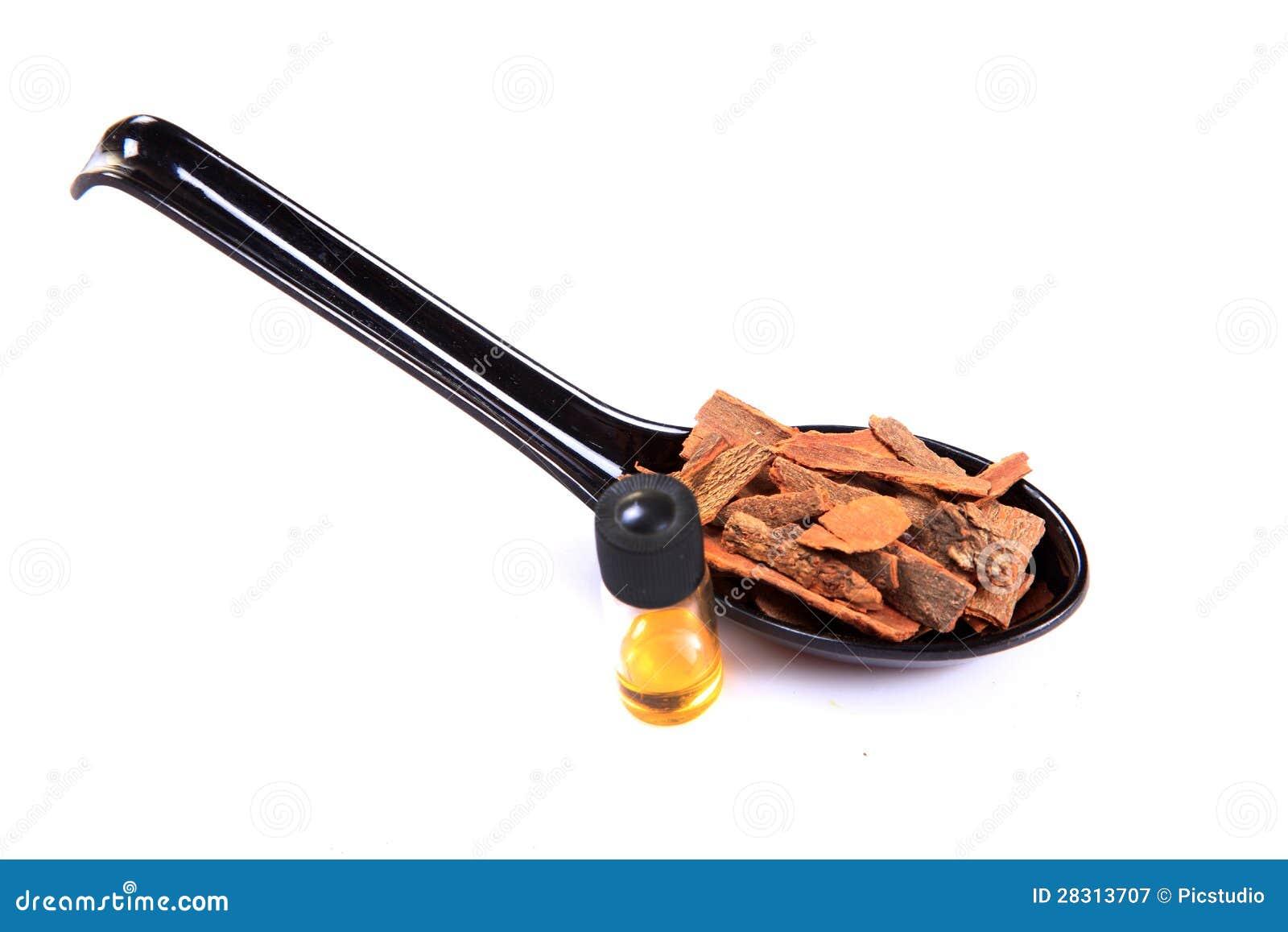 Циннамон и масло