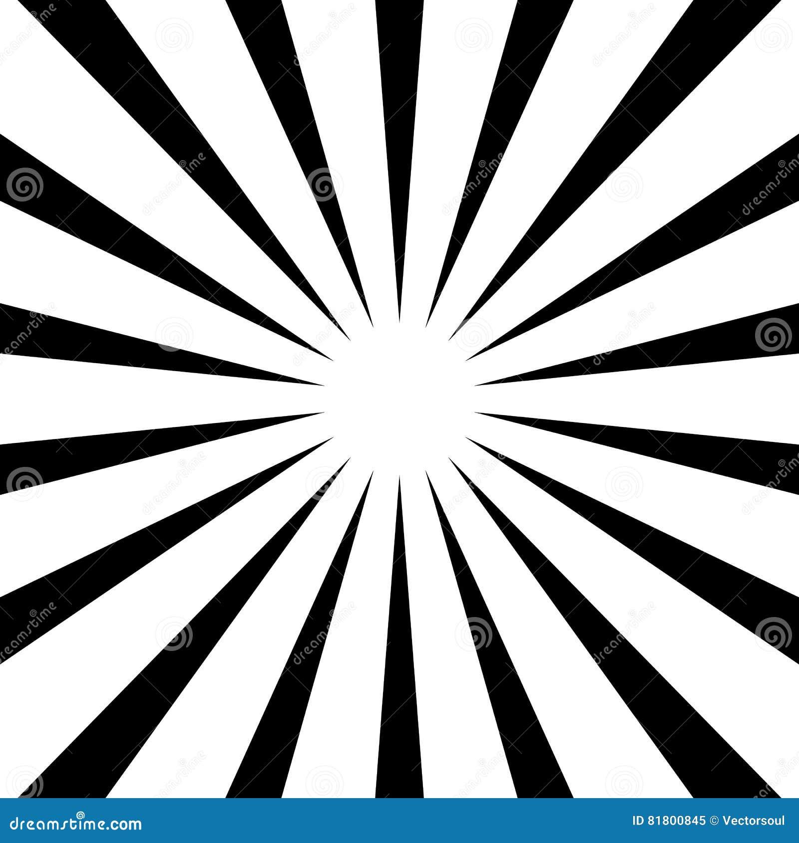 Циркуляр, линии геометрическая картина нашивок Monochrome illustrati