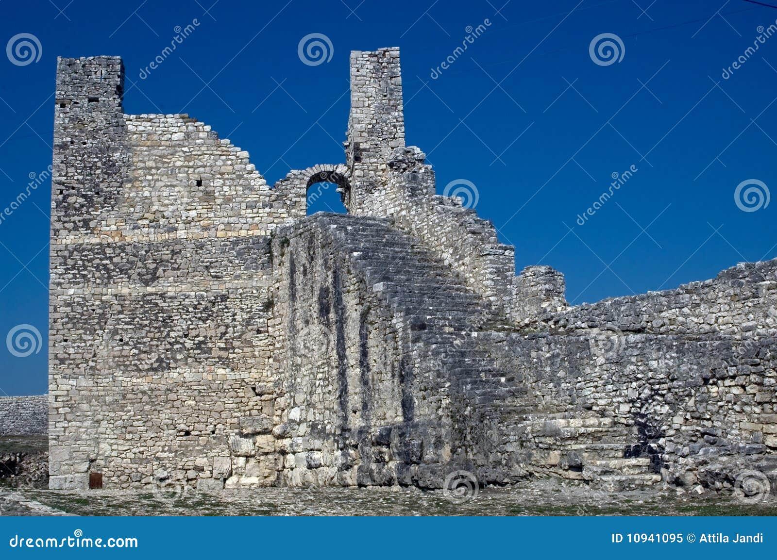 цитадель berati Албании