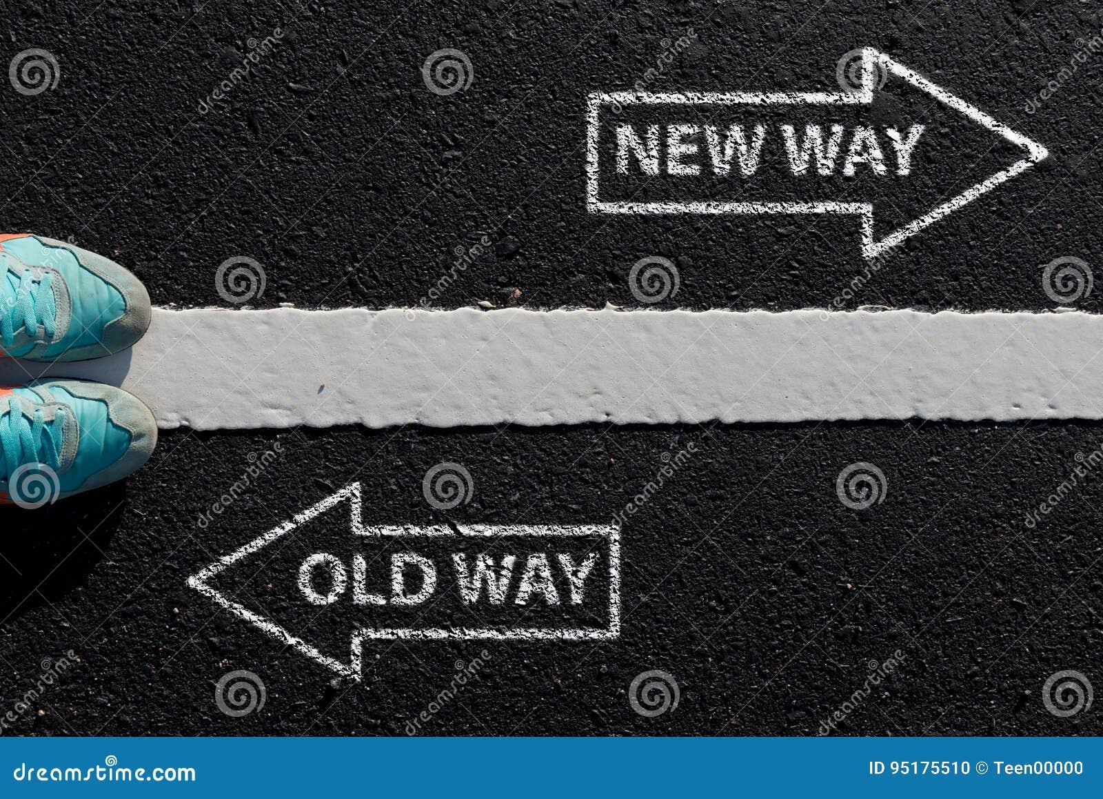 Цитата воодушевленности: Путь нового пути старый на виде с воздуха runnin
