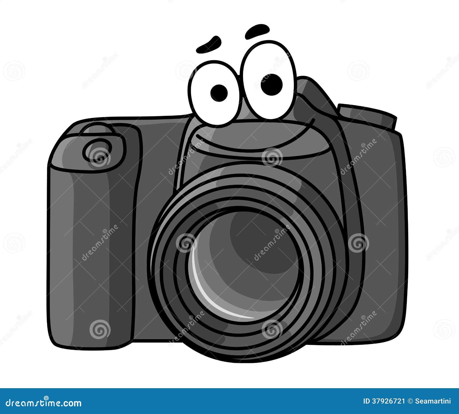 Цифровой фотокамера шаржа
