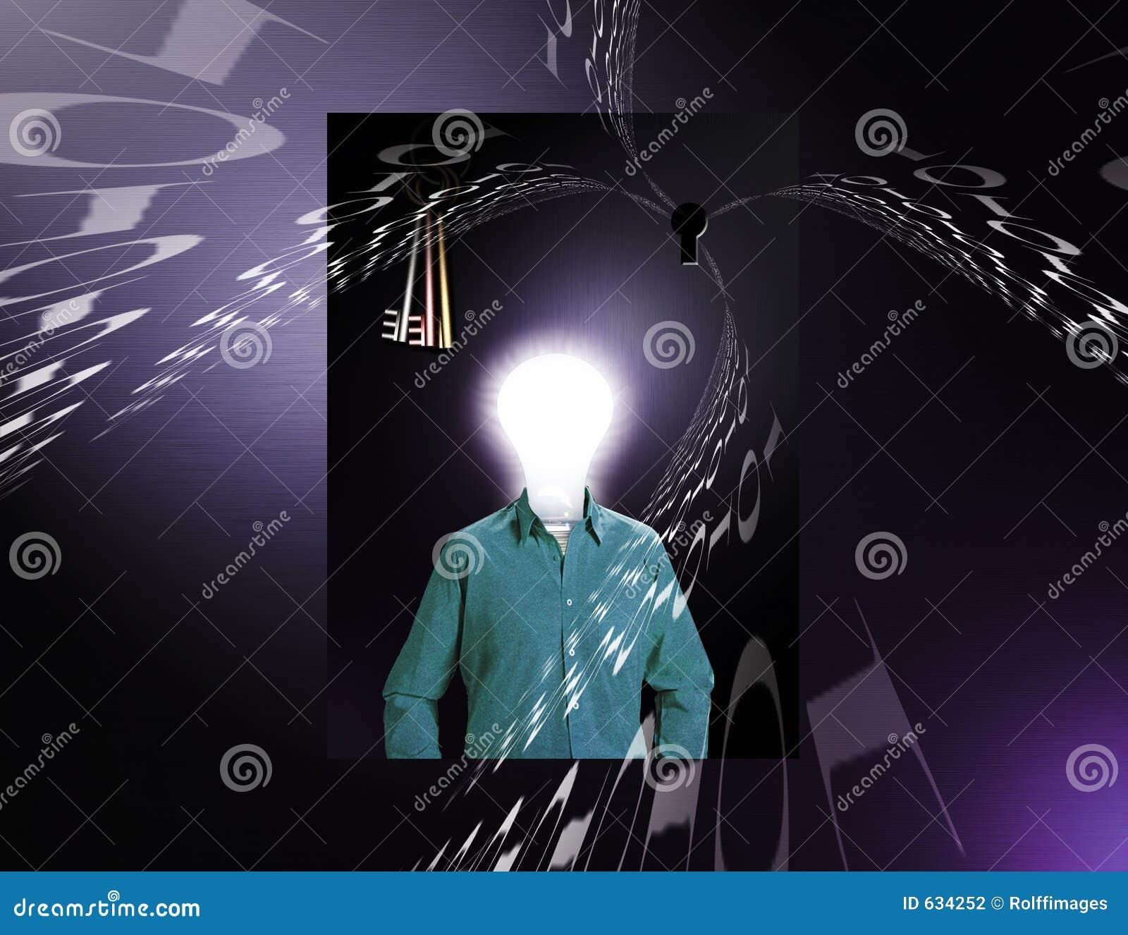 Download цифровой человек данным по идеи Иллюстрация штока - иллюстрации насчитывающей схематическо, космос: 634252