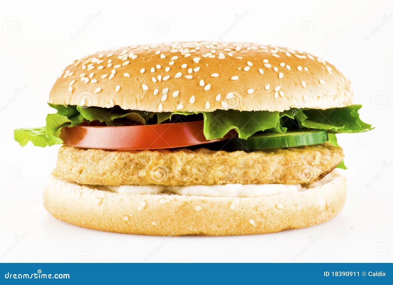 цыпленок бургера