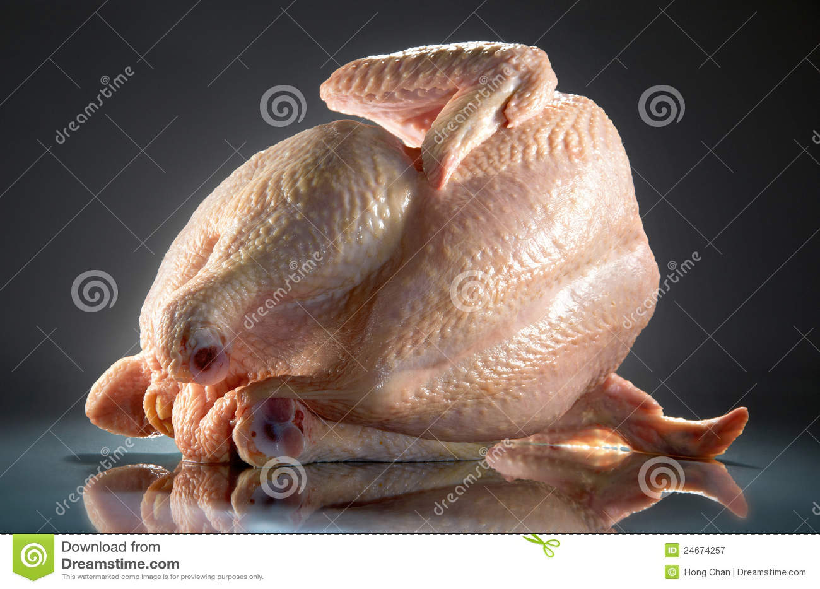 цыпленок сырцовый