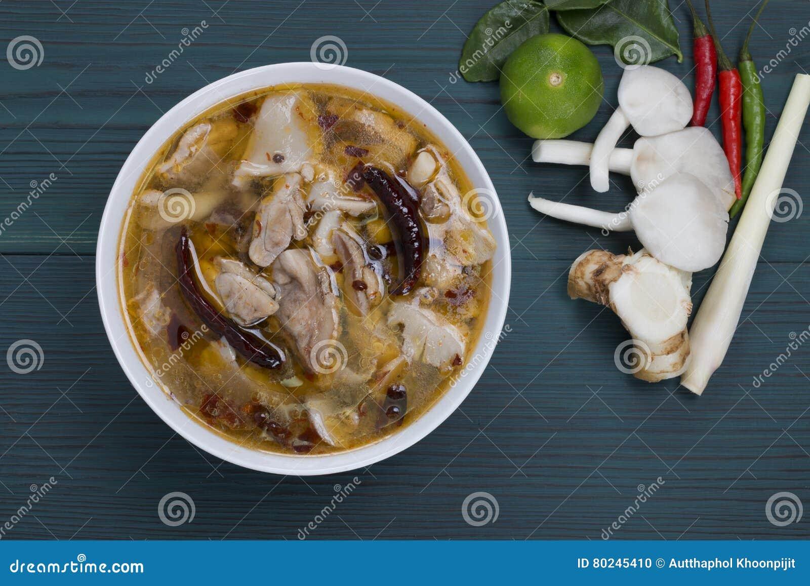 Цыпленок Том Yum