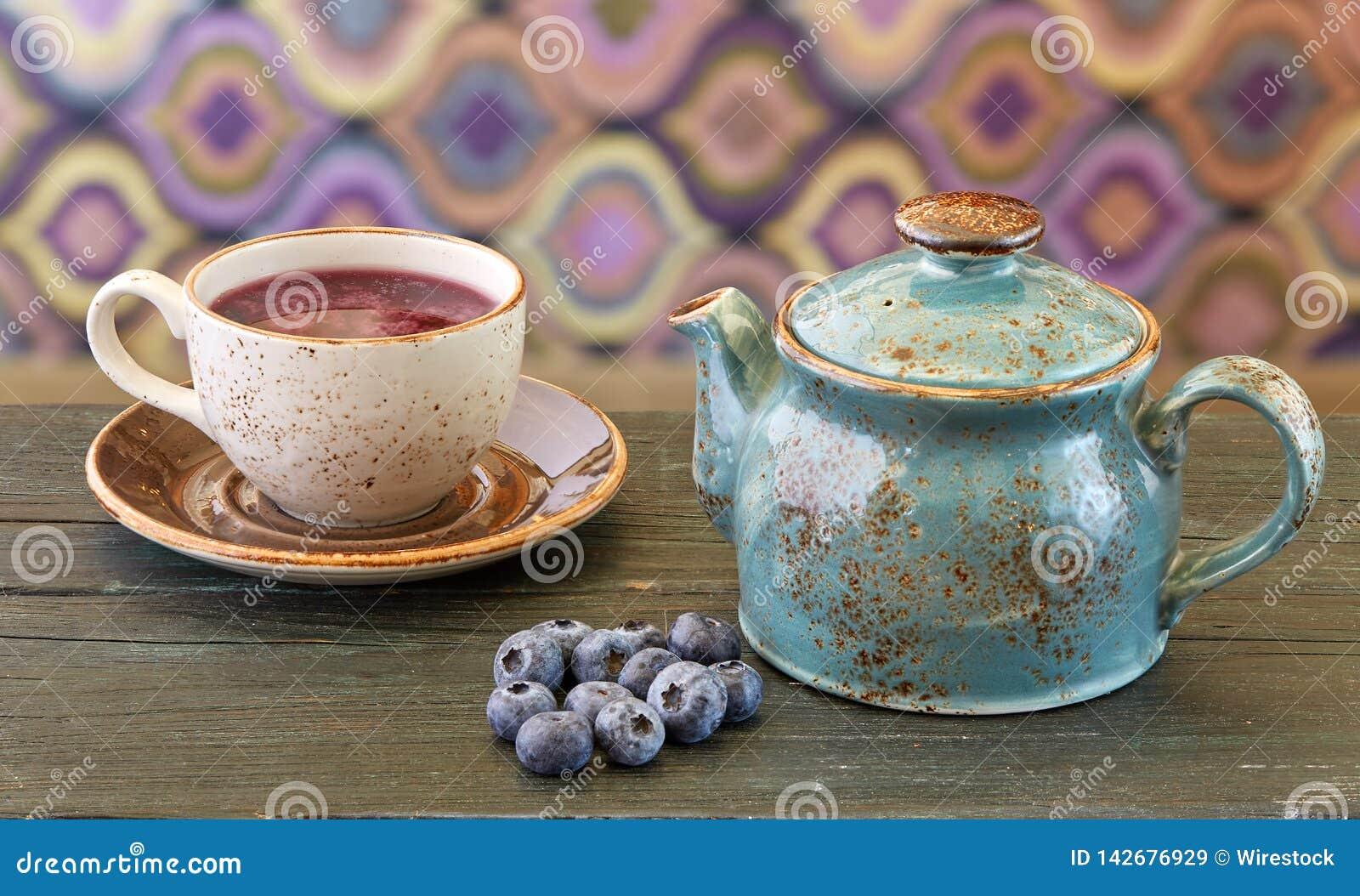Чай голубики
