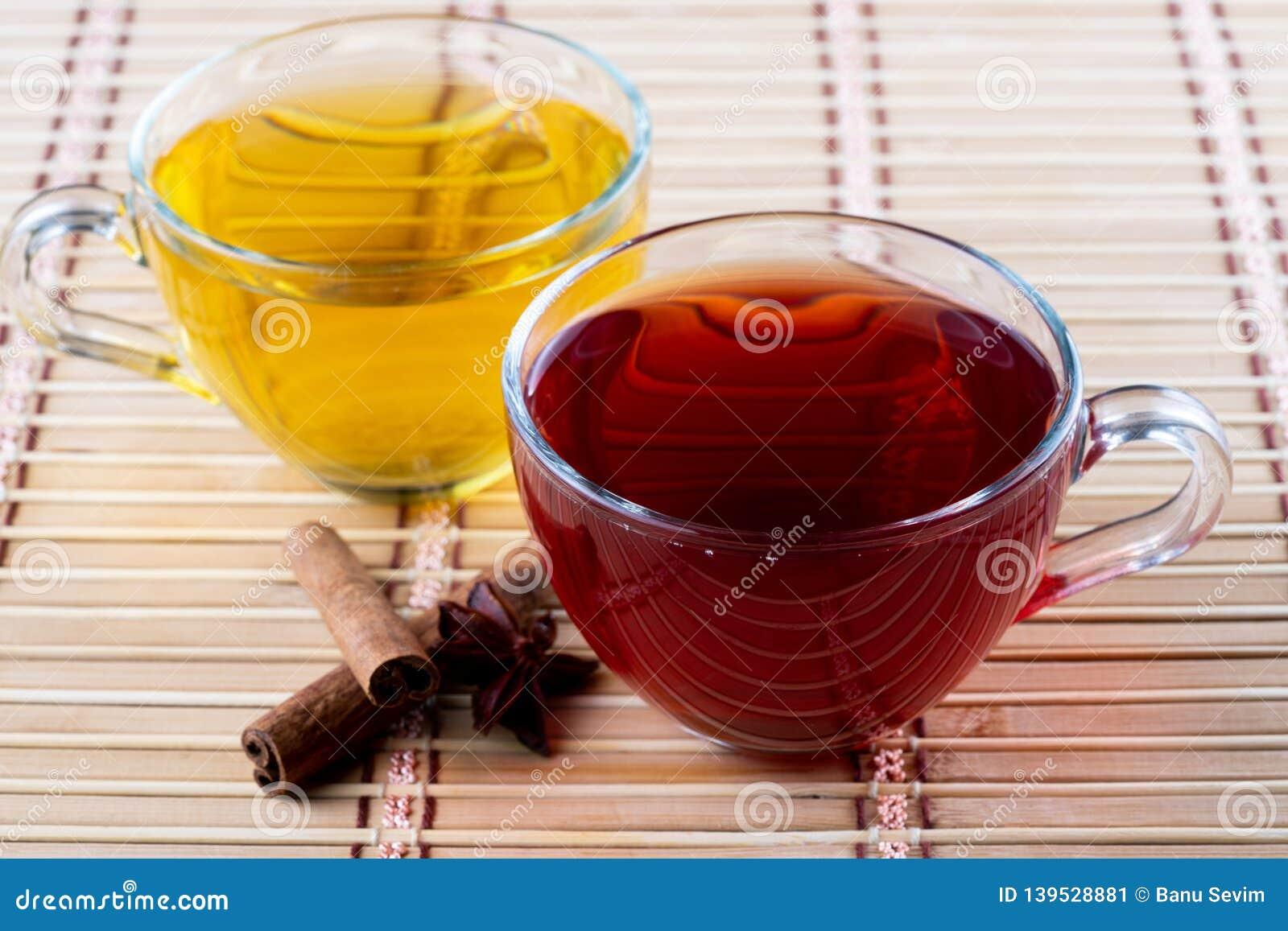 Чай зеленого конца красный