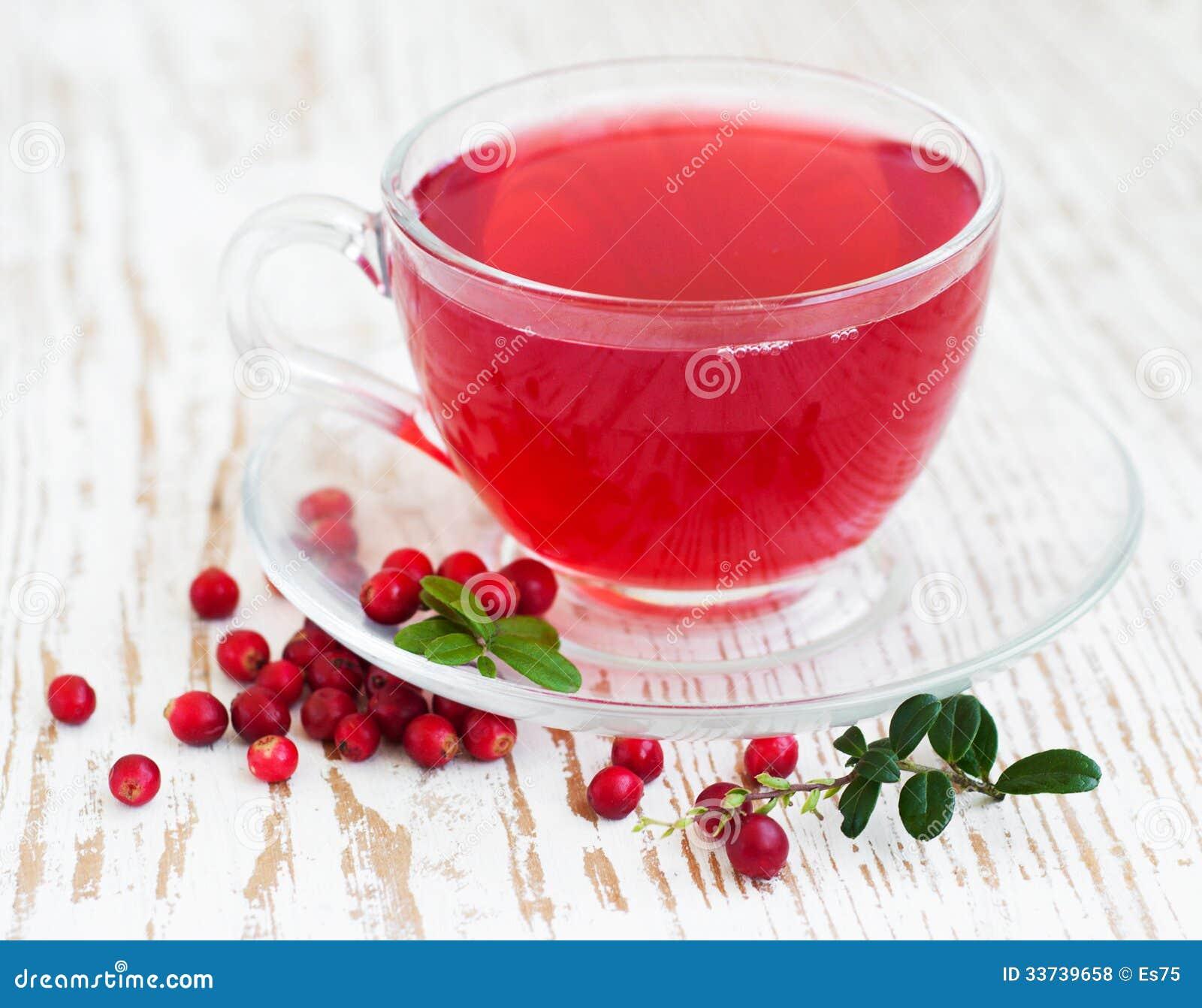 Чай клюквы