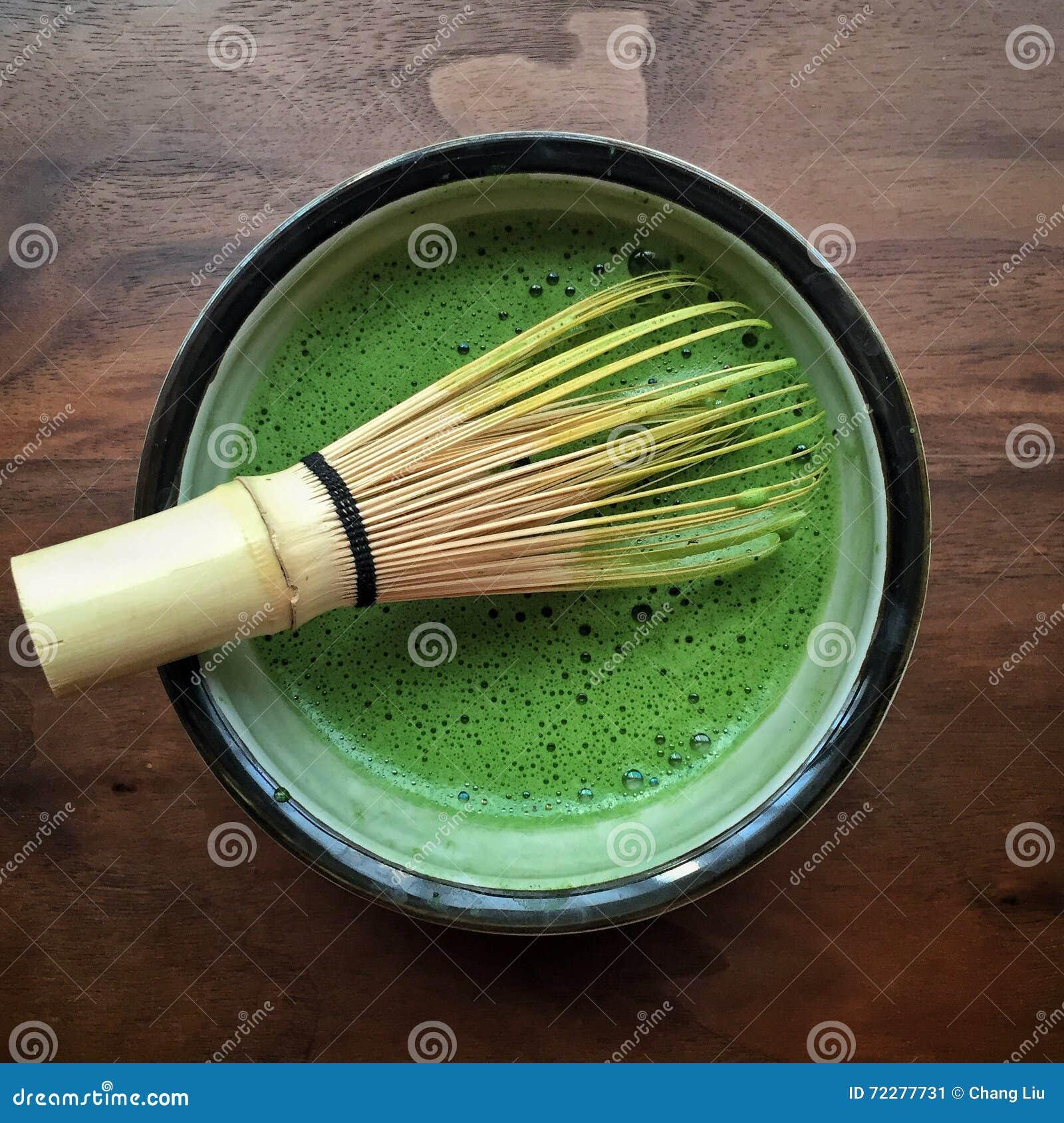 Download Чай Macha зеленый стоковое изображение. изображение насчитывающей питье - 72277731