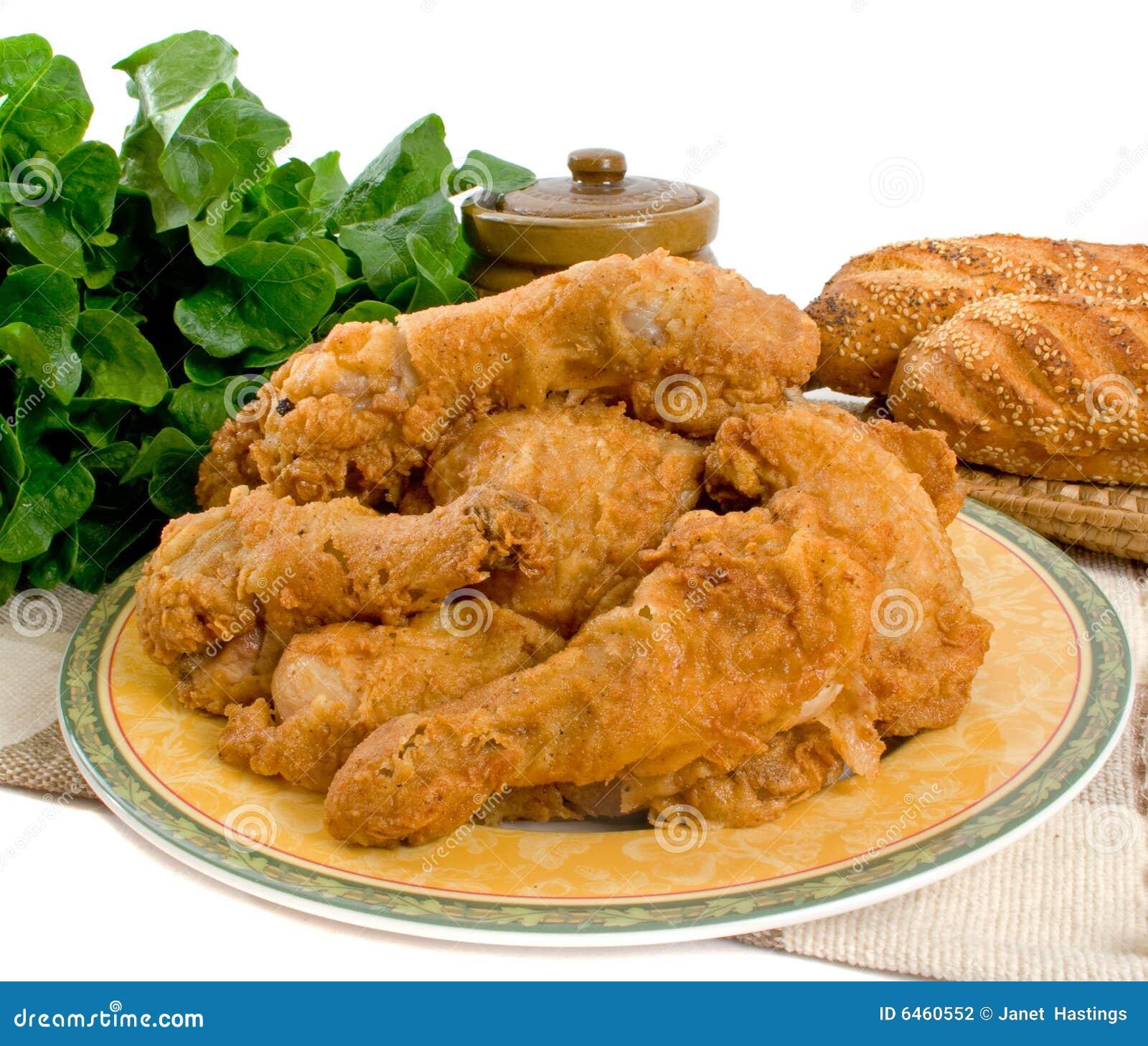 части зажаренные цыпленком