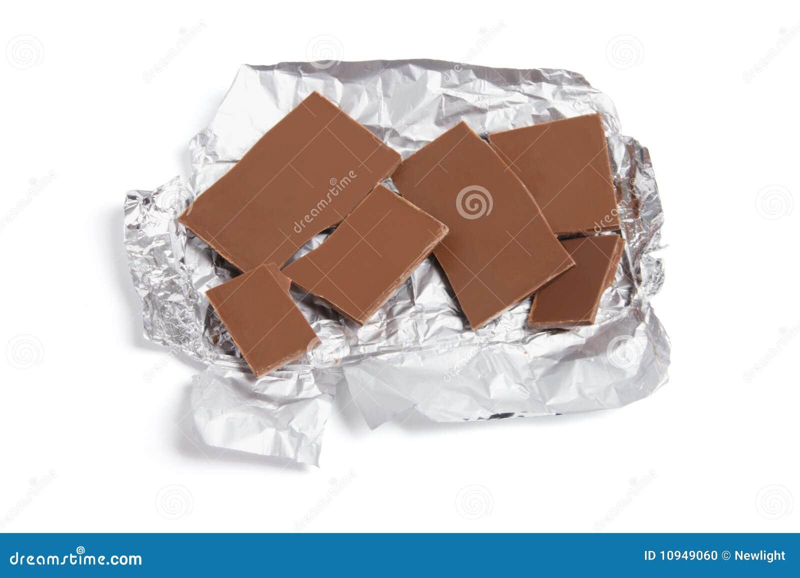 части шоколада