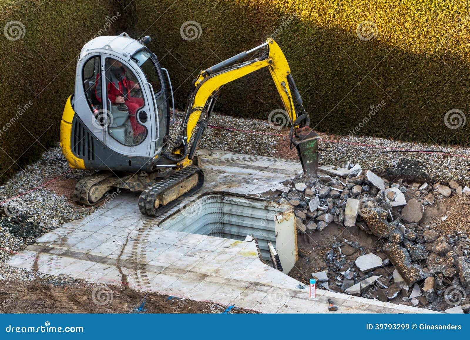 Частная строительная площадка
