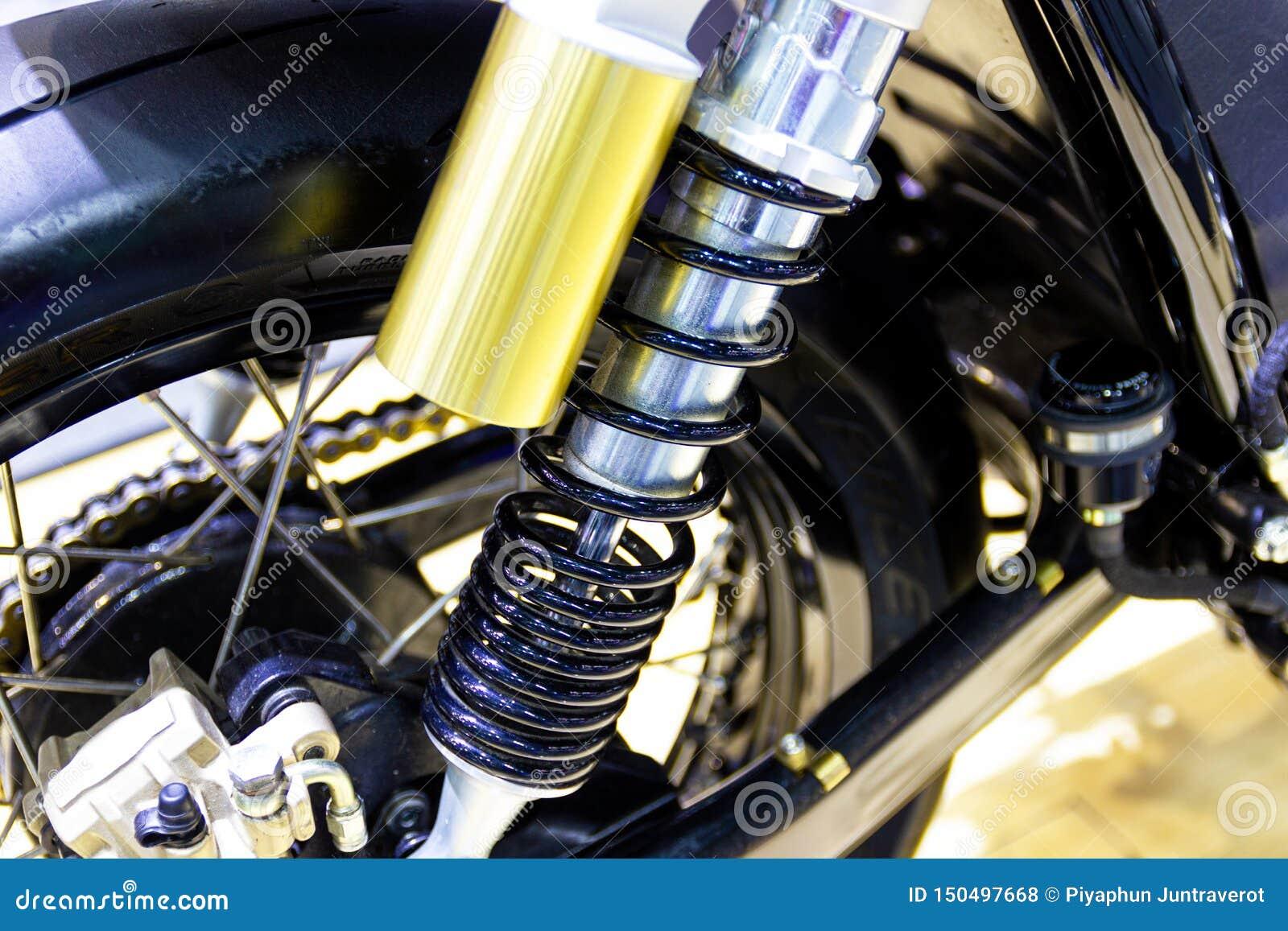 Часть амортизаторов мотоцикла часть для предотвращения удара
