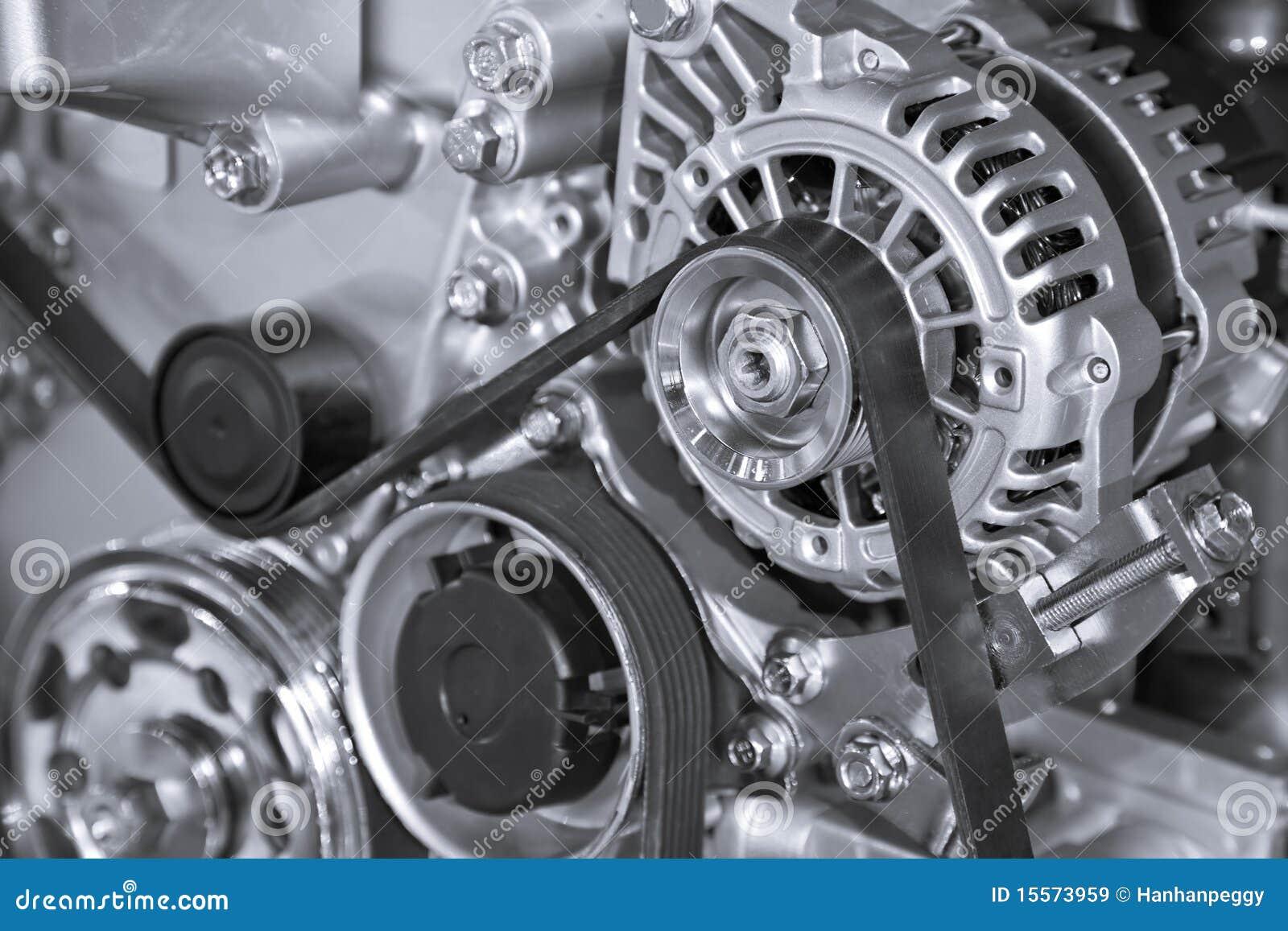 часть двигателя автомобиля