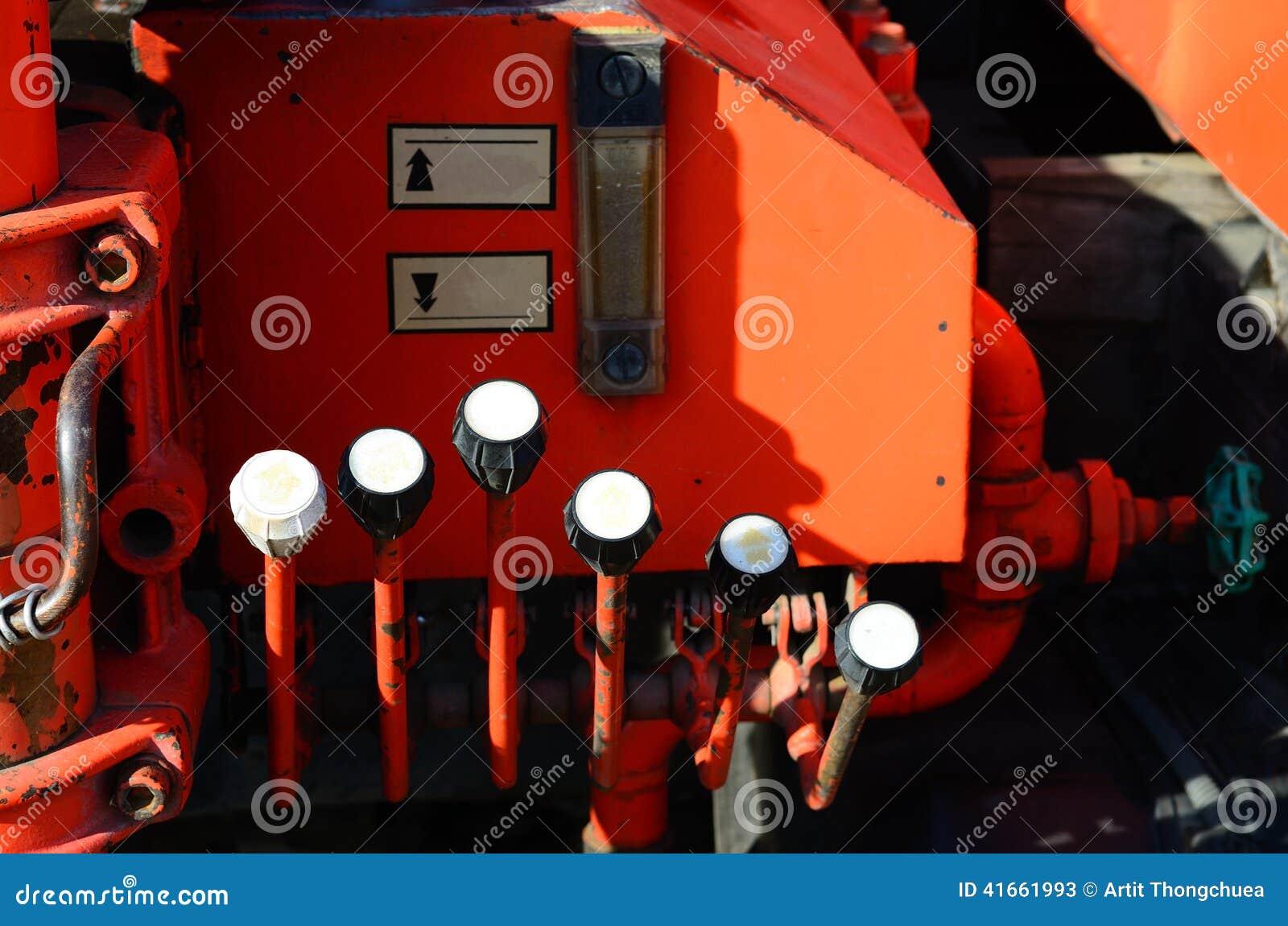 Часть оборудования пожарной машины