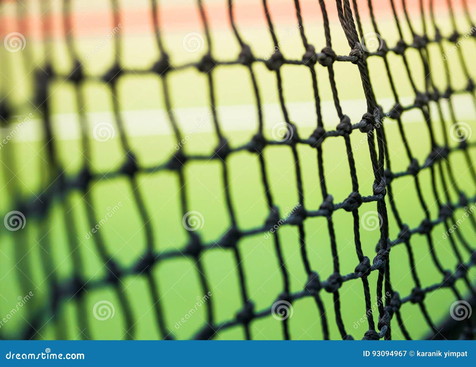 Часть сети тенниса