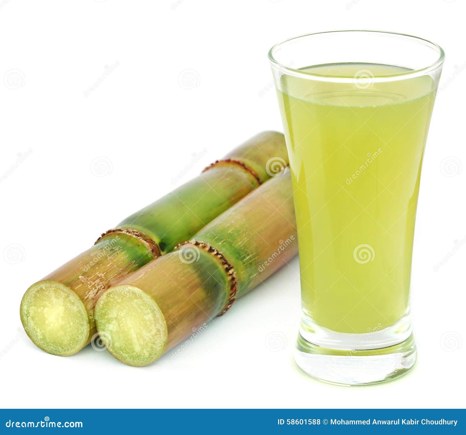 Часть сока сахарного тростника