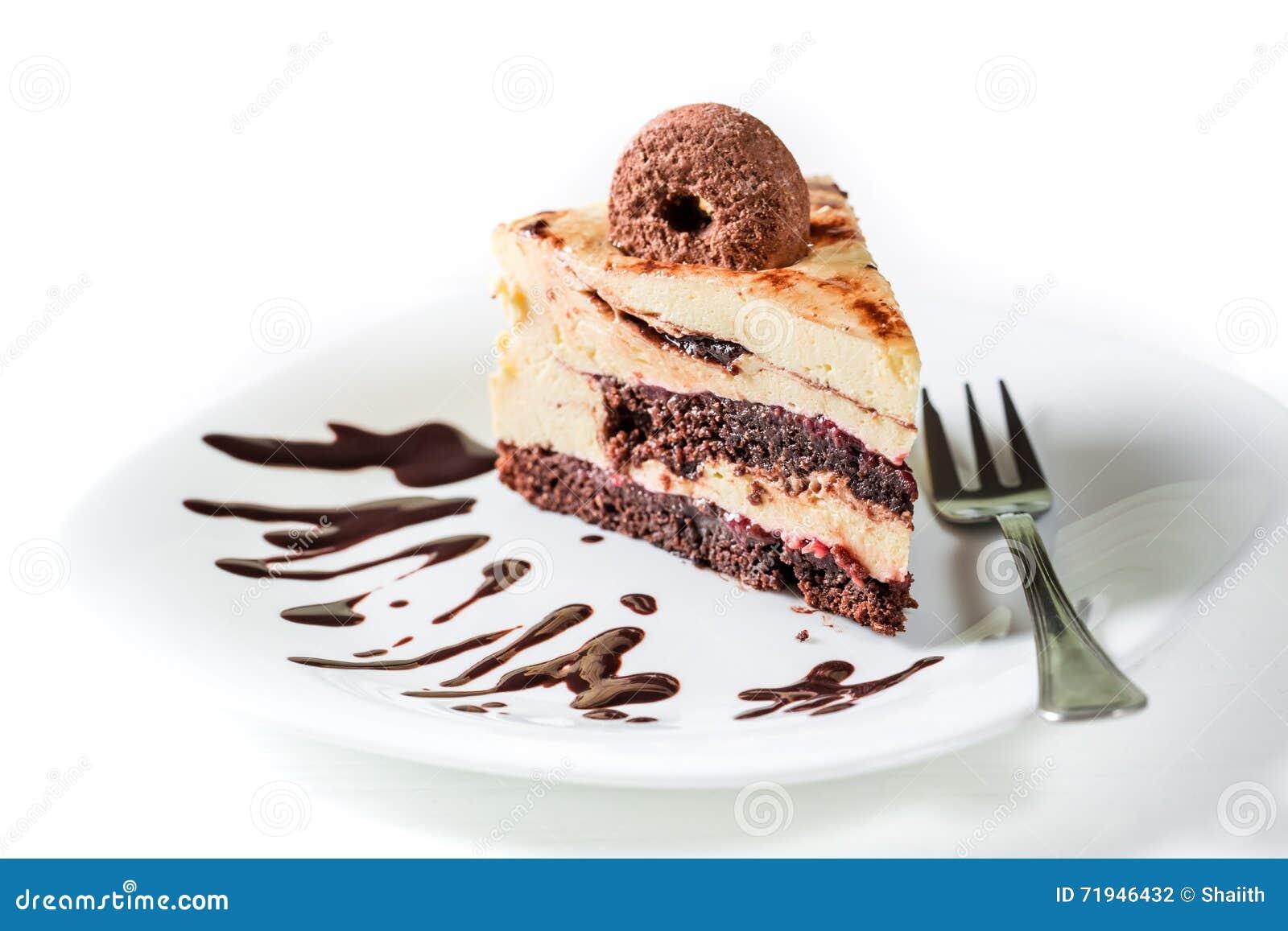 Часть торта печений