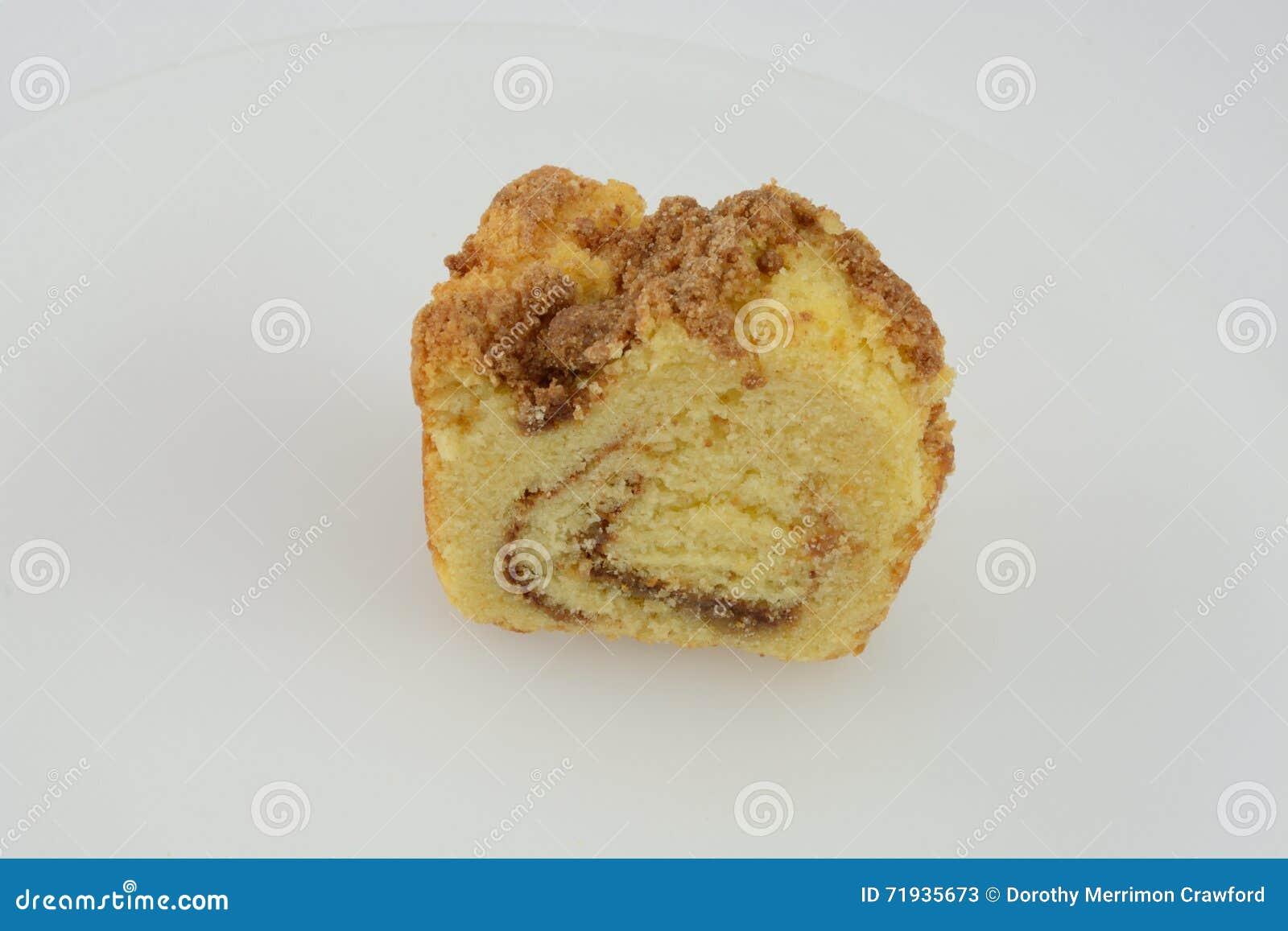 Часть торта свирли циннамона