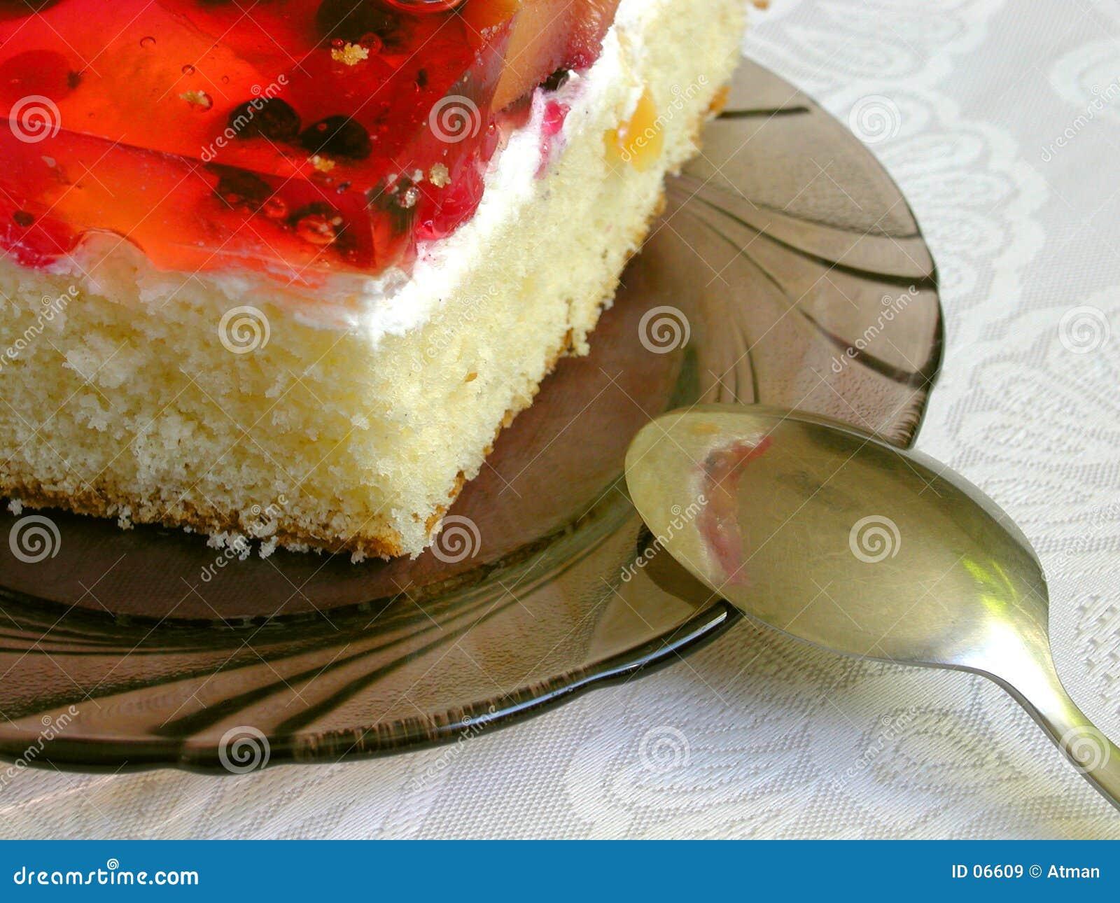 часть торта