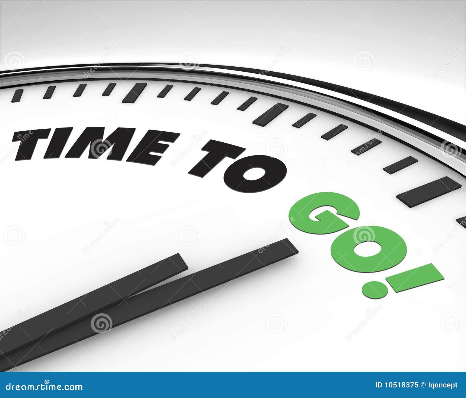 часы идут время к