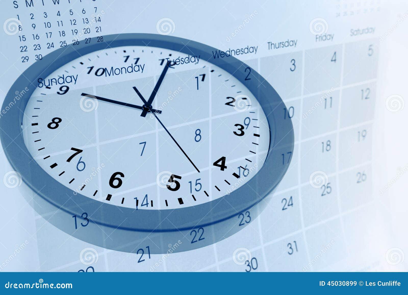 календарь и часики в одной картинке несет свои воды