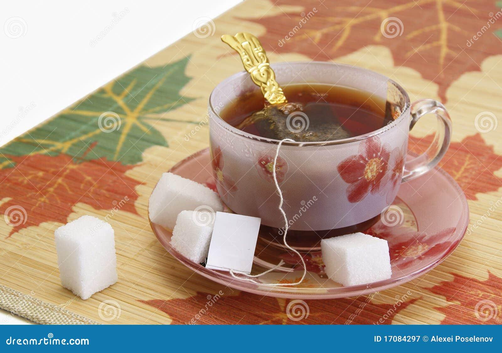Чашек чаю и части сахара