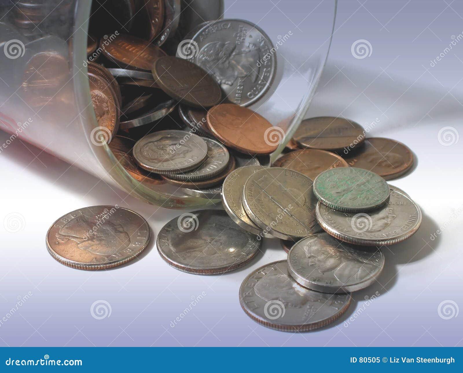 чашка монеток