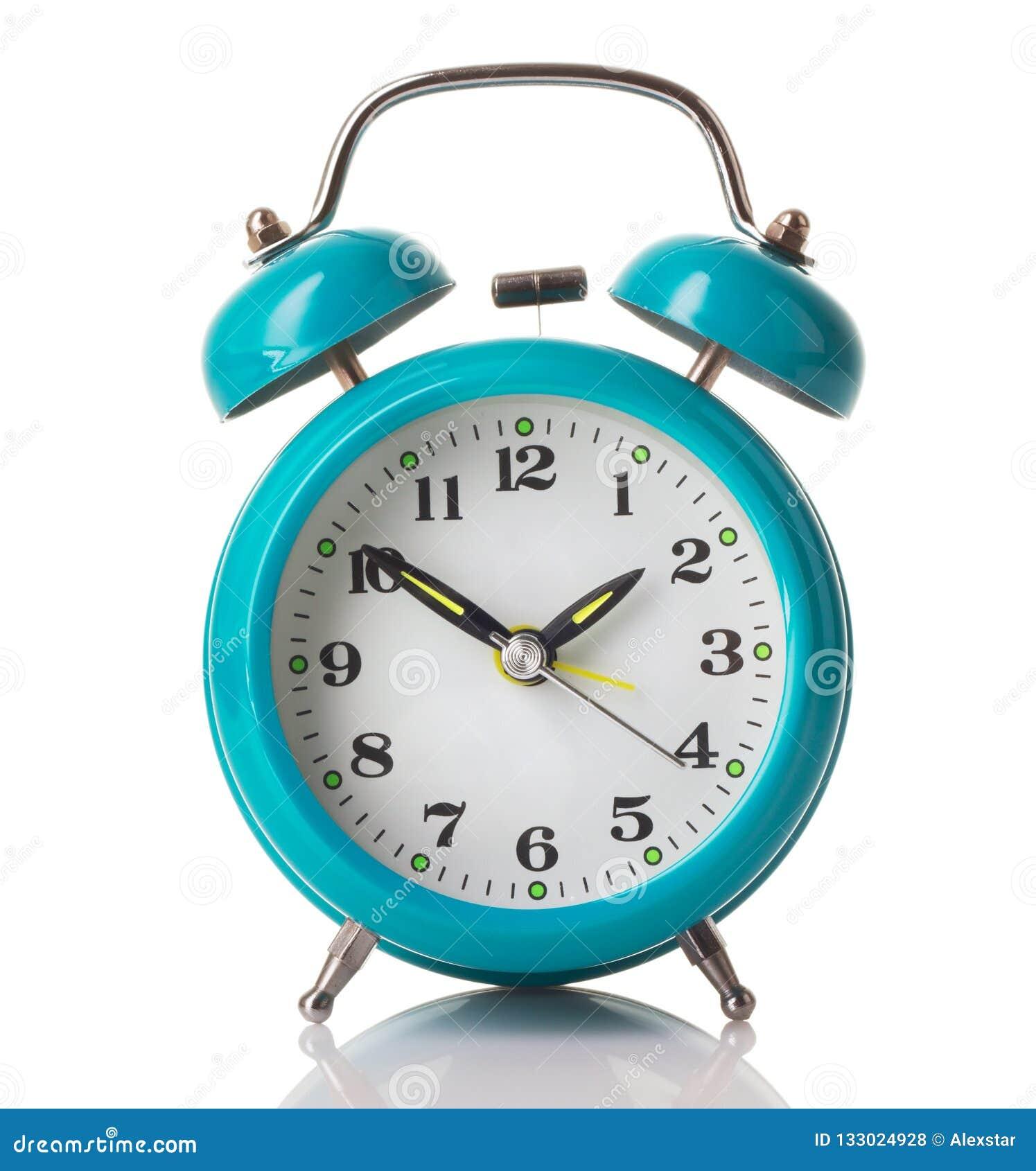 Чеканьте зеленый будильник
