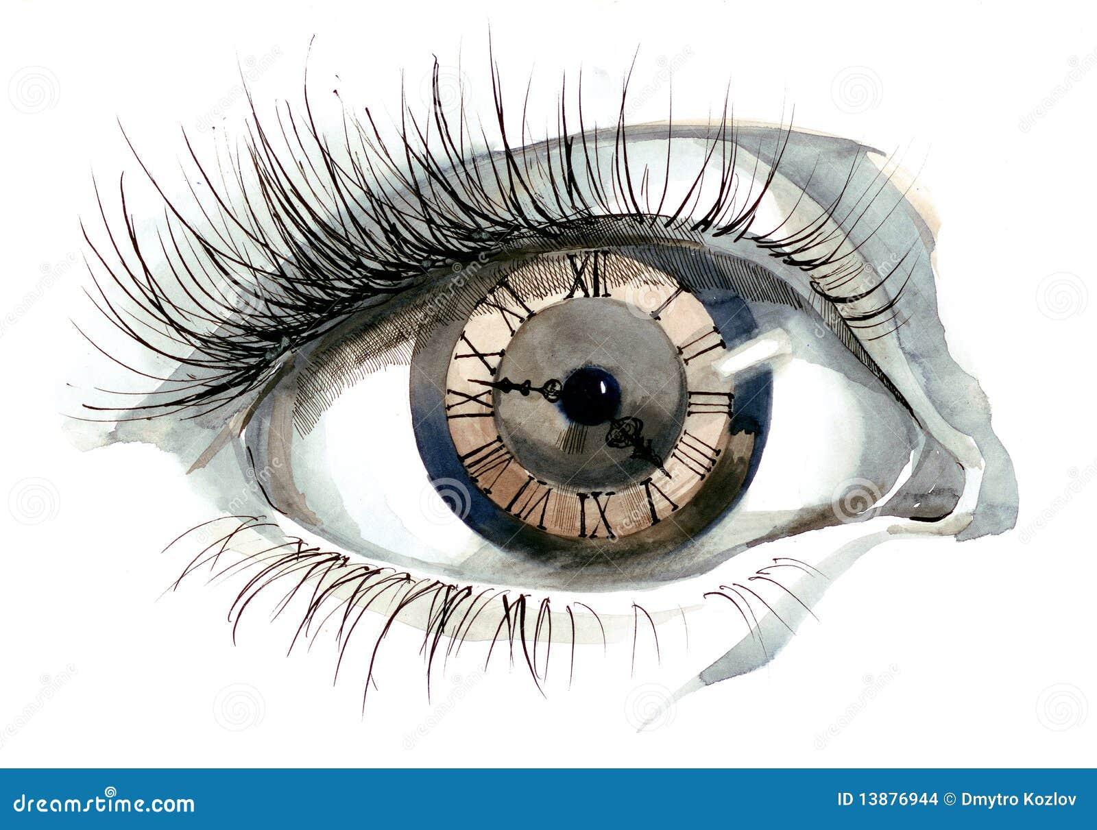 человек глаза