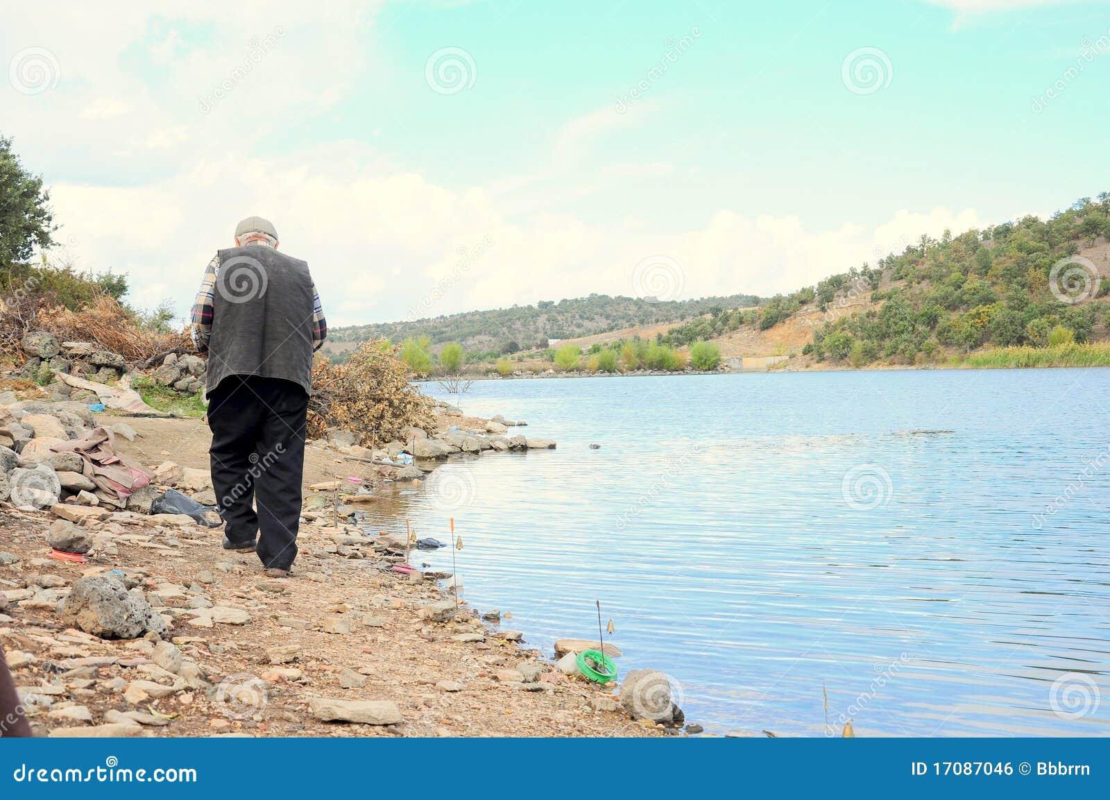 человек озера