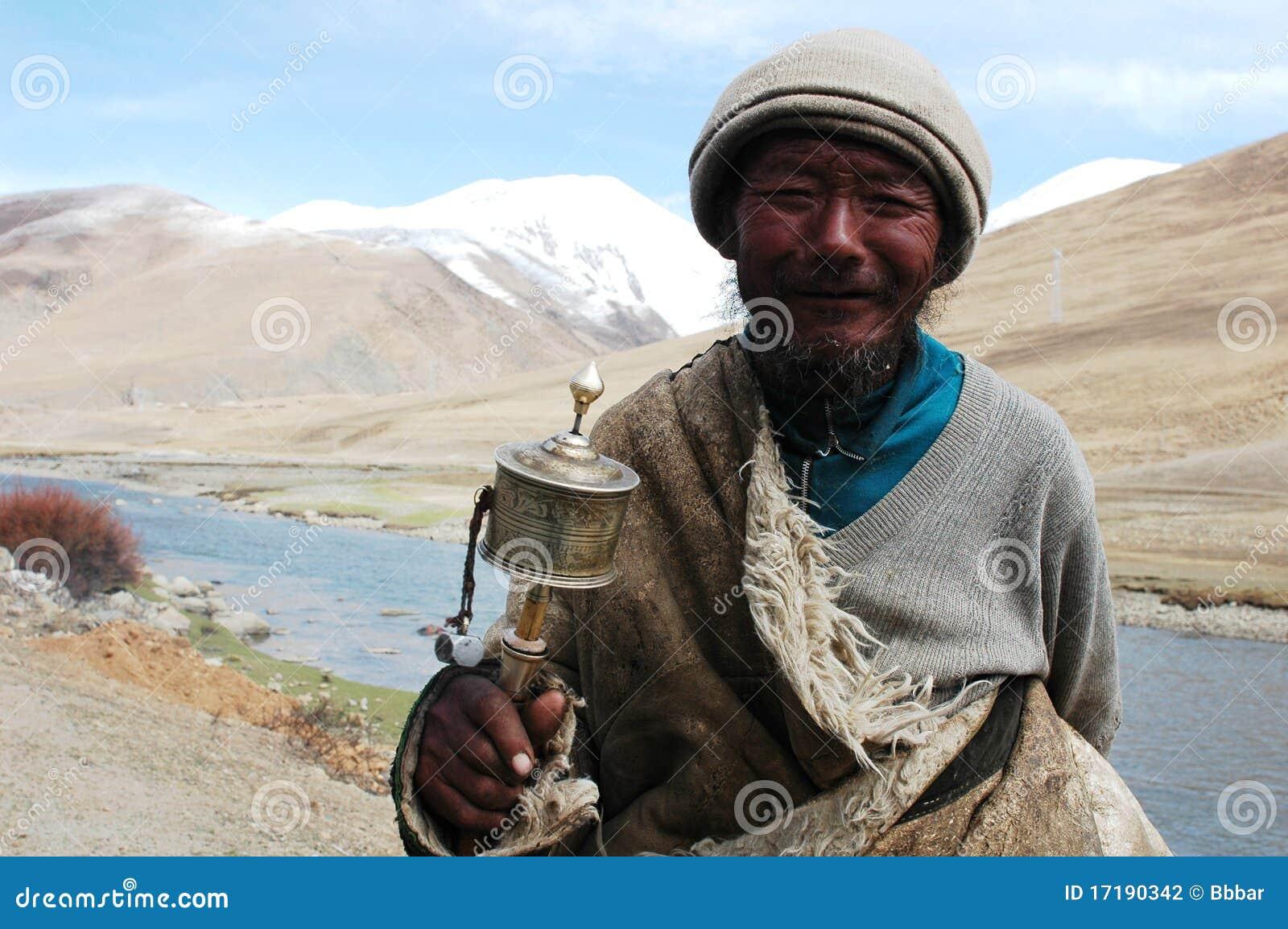 человек Тибет
