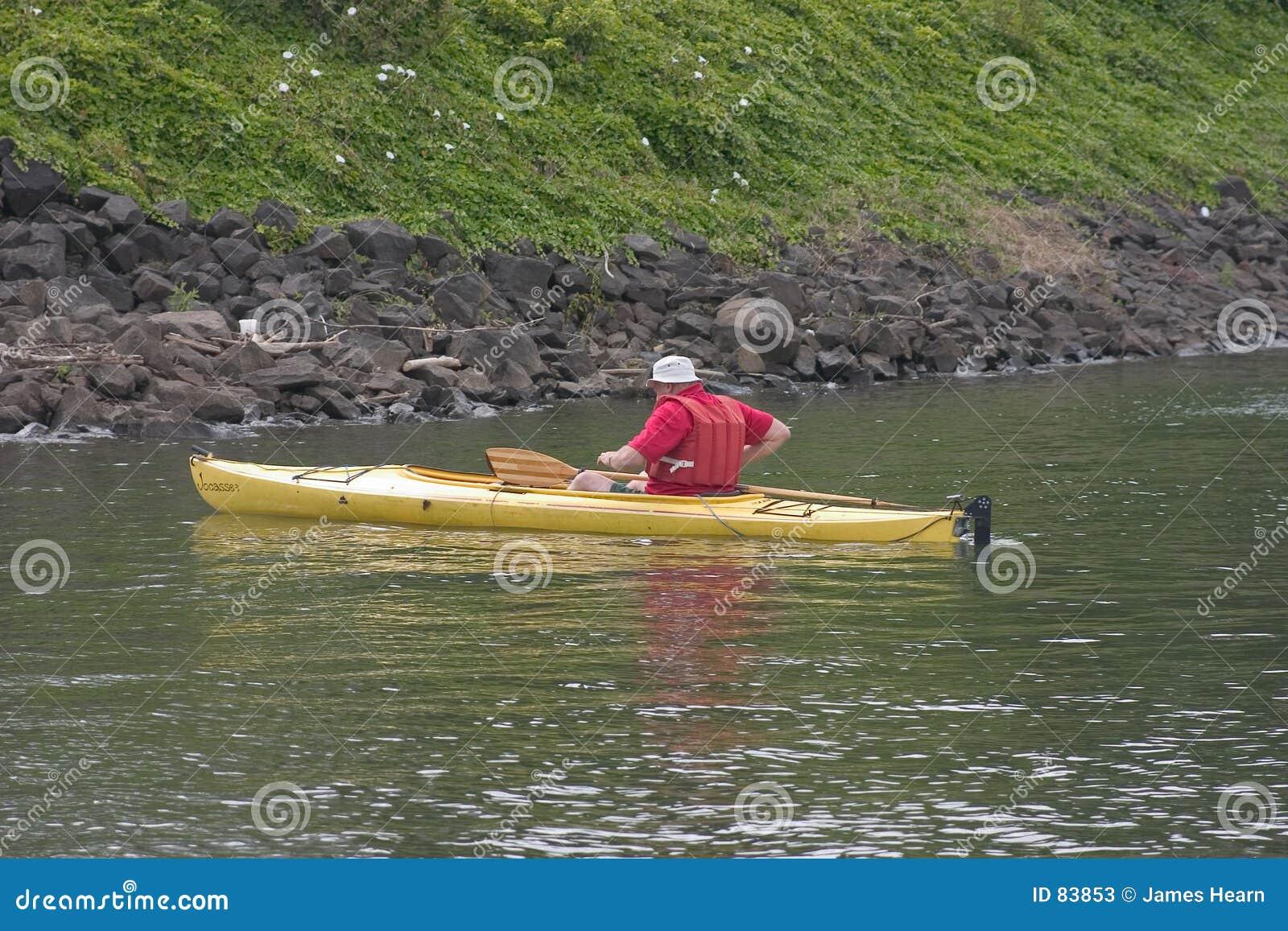 человек kayak