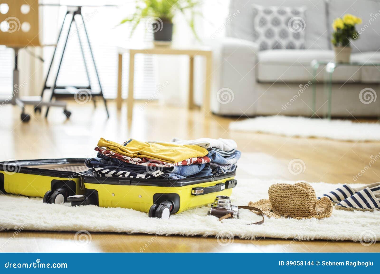 Чемодан перемещения подготовки дома