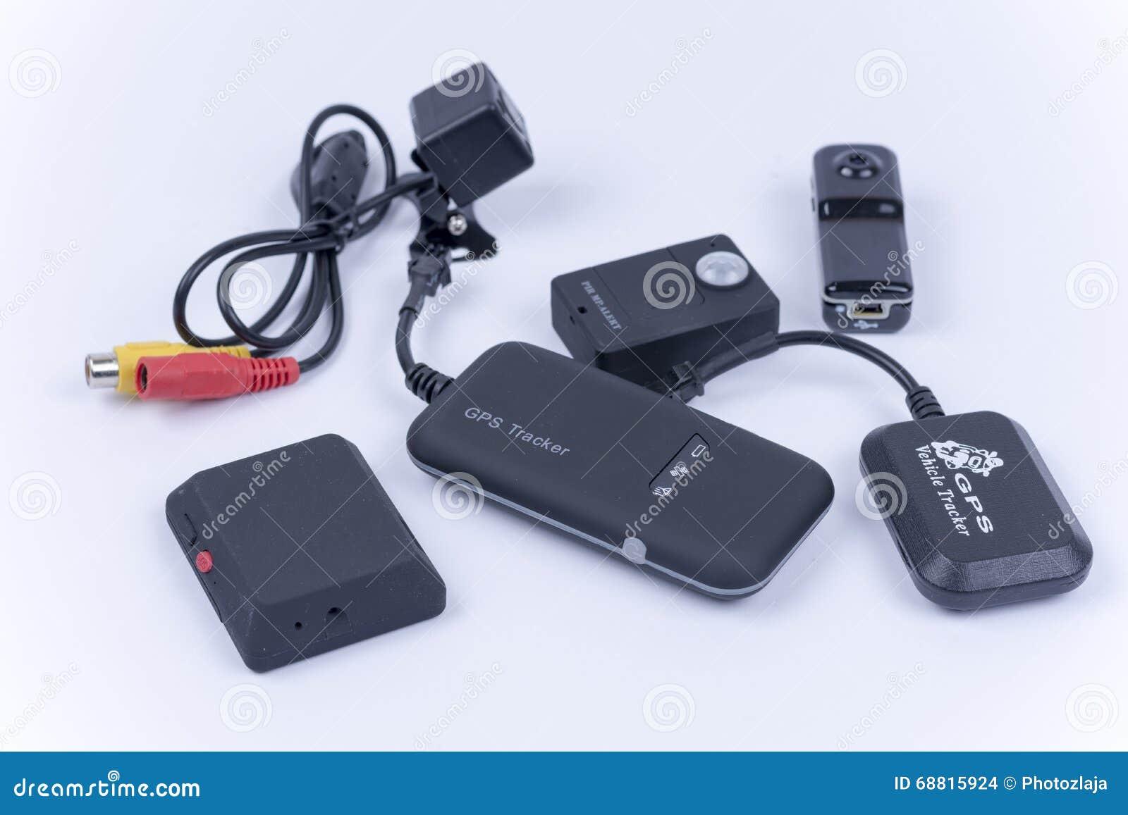 Спрчтанная камера
