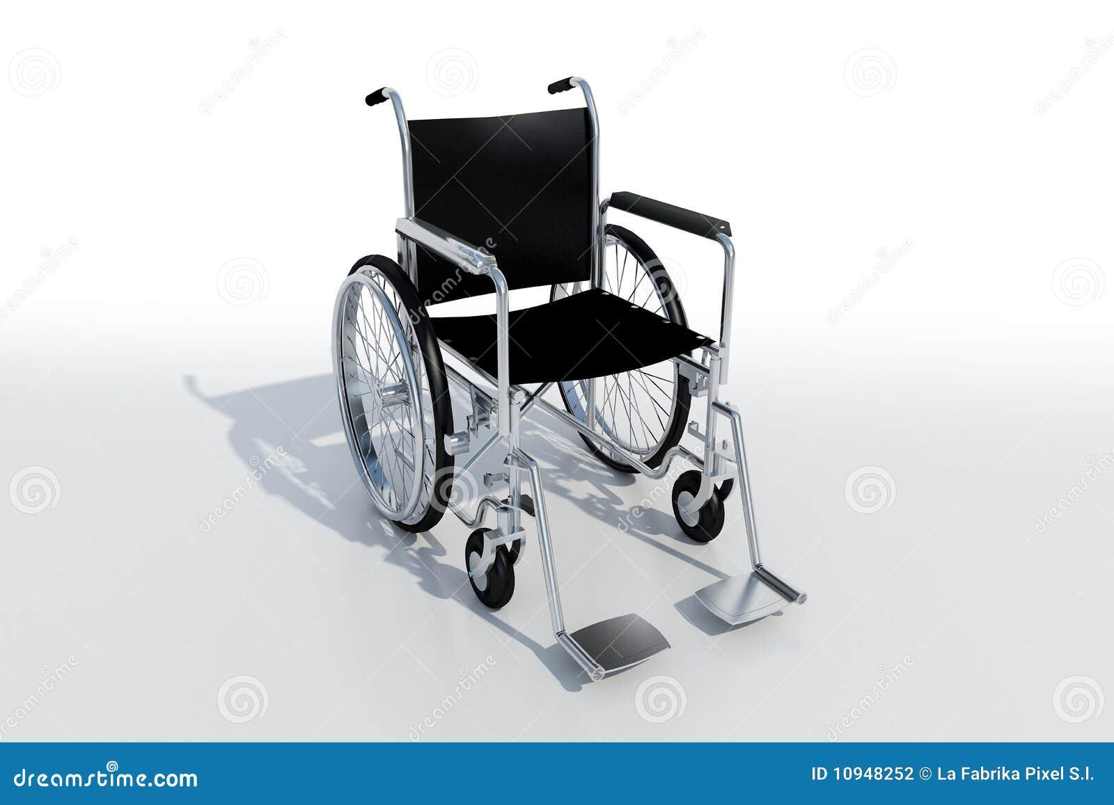 черная кресло-коляска