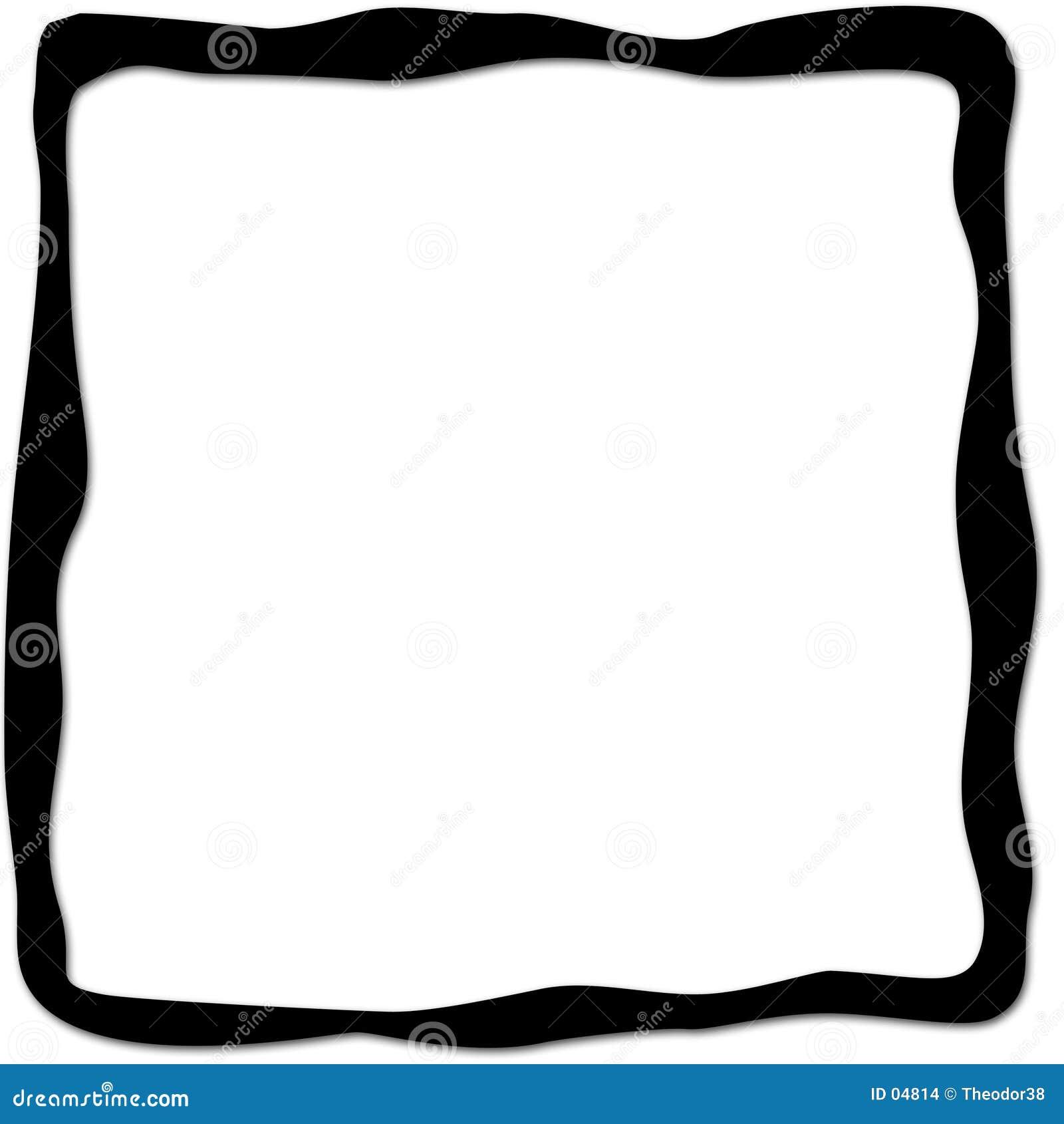 черная рамка