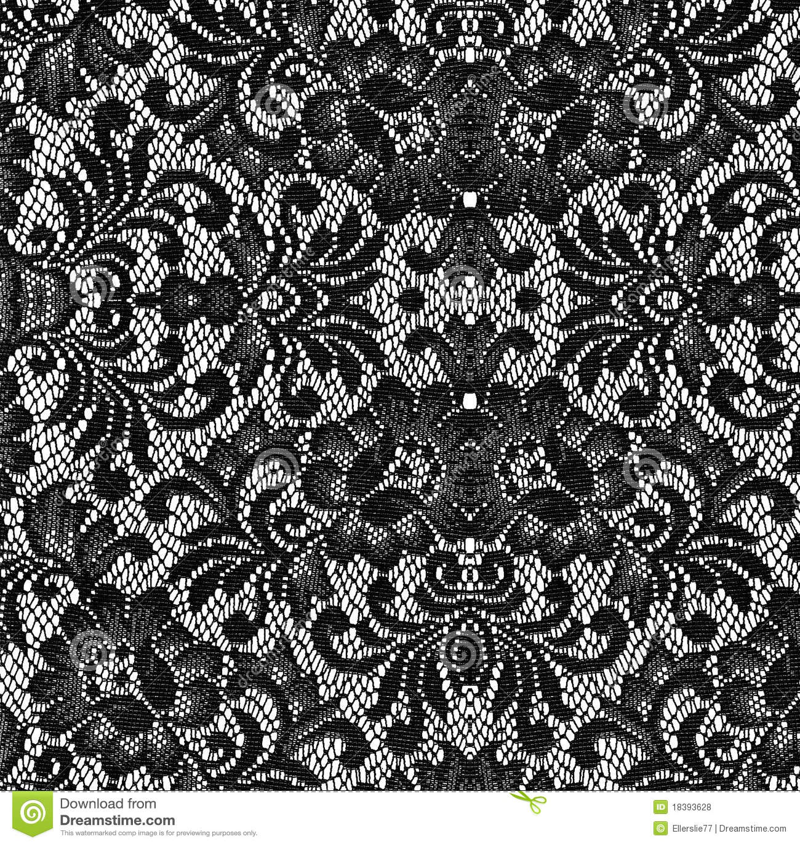 черная текстура шнурка