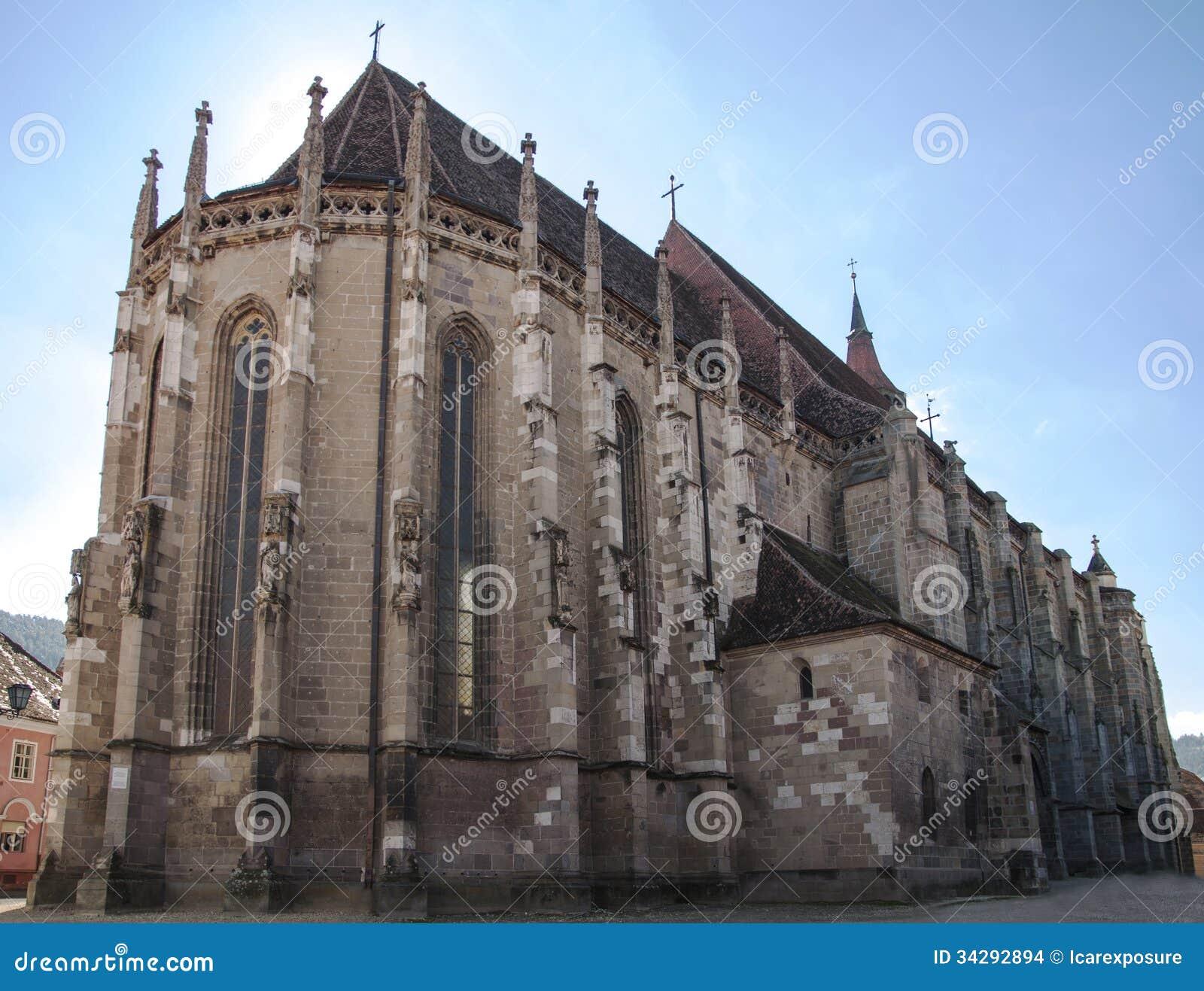 Черная церковь в Brasov, Румынии