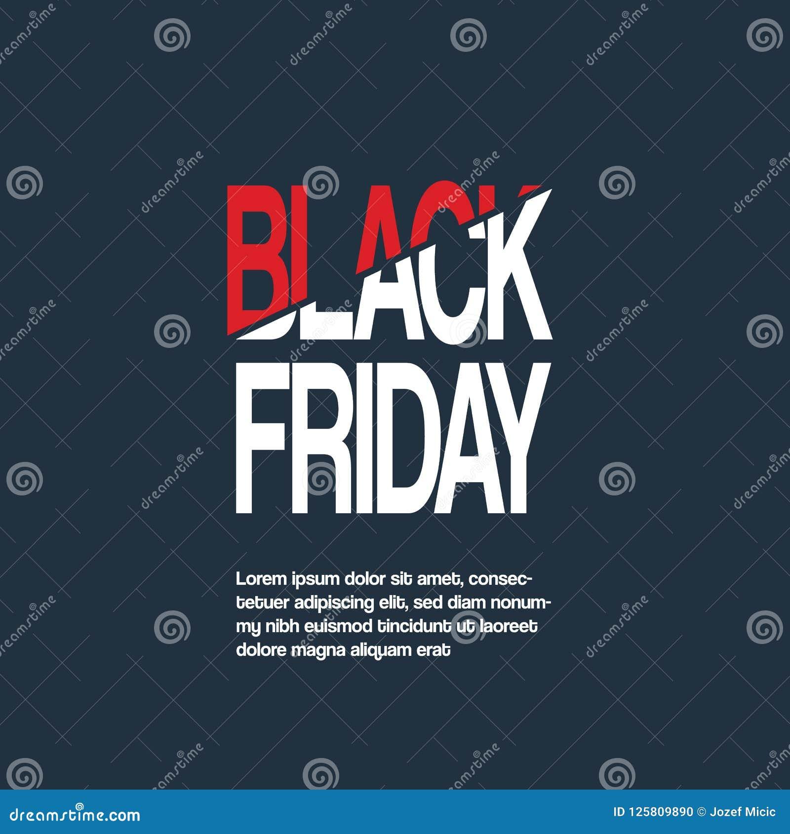 Черное знамя вектора продажи пятницы с специальным оформлением хлестало название Специальные предложения, скидки, роскошное продв