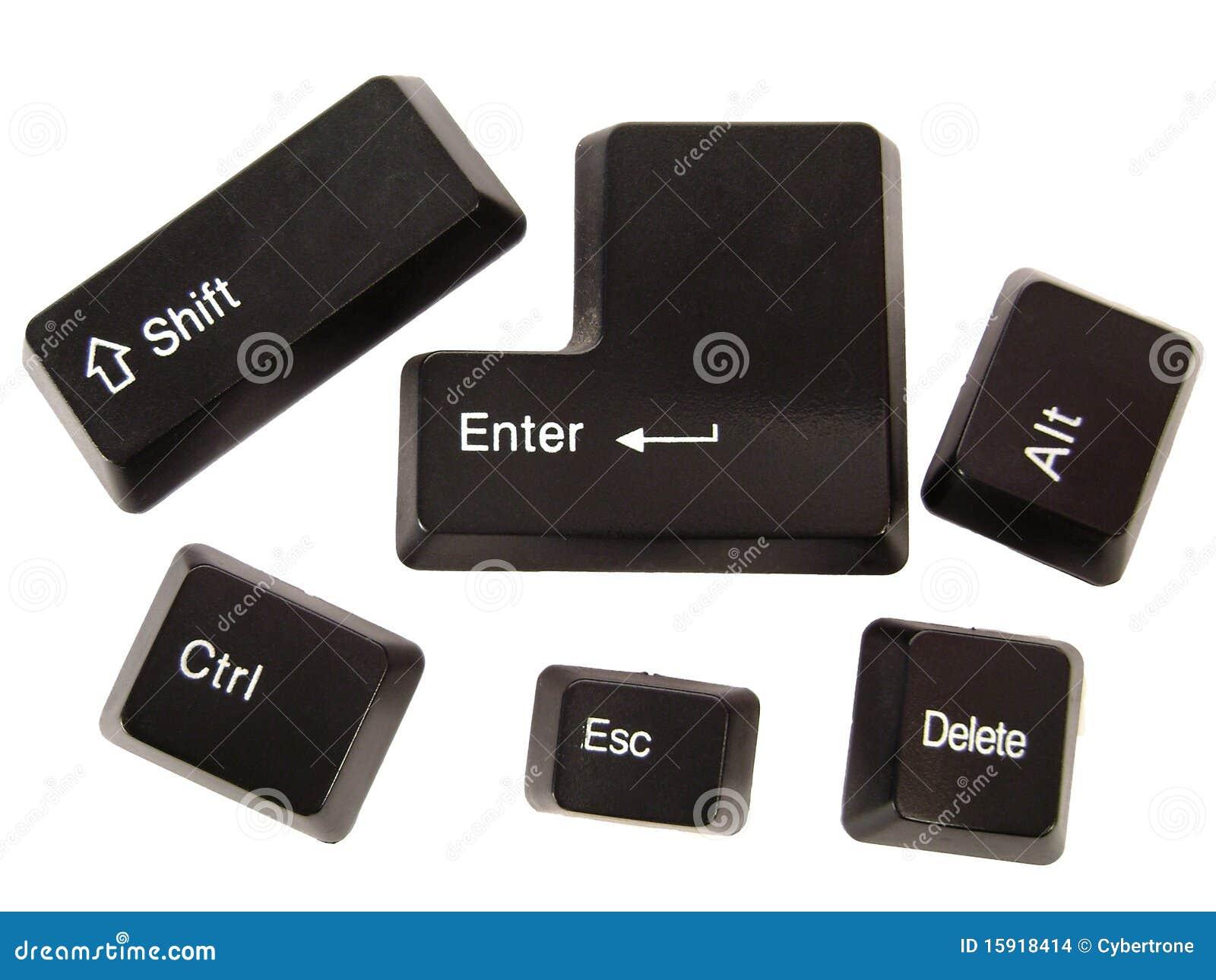 чернота застегивает клавиатуру