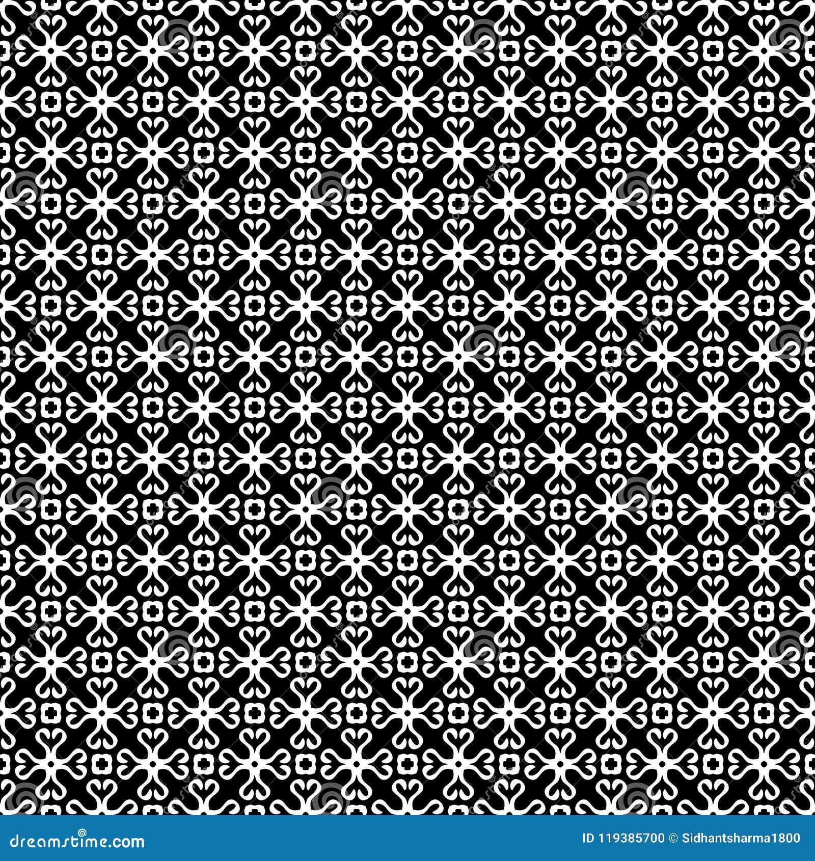 Черно-белая БЕЗШОВНАЯ ГЕОМЕТРИЧЕСКАЯ СКОРОГОВОРКА, ДИЗАЙН ПРЕДПОСЫЛКИ самомоднейшая стильная текстура Повторять и editable Смогит