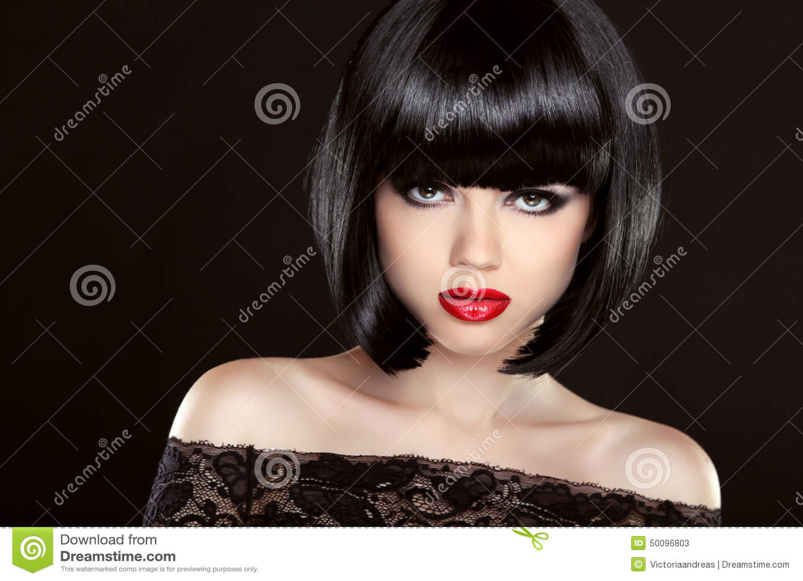 Стрижка волос черная магия
