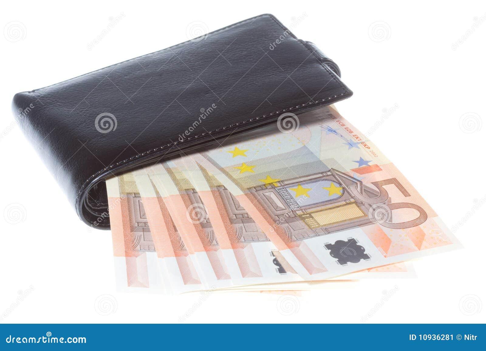 черный бумажник дег