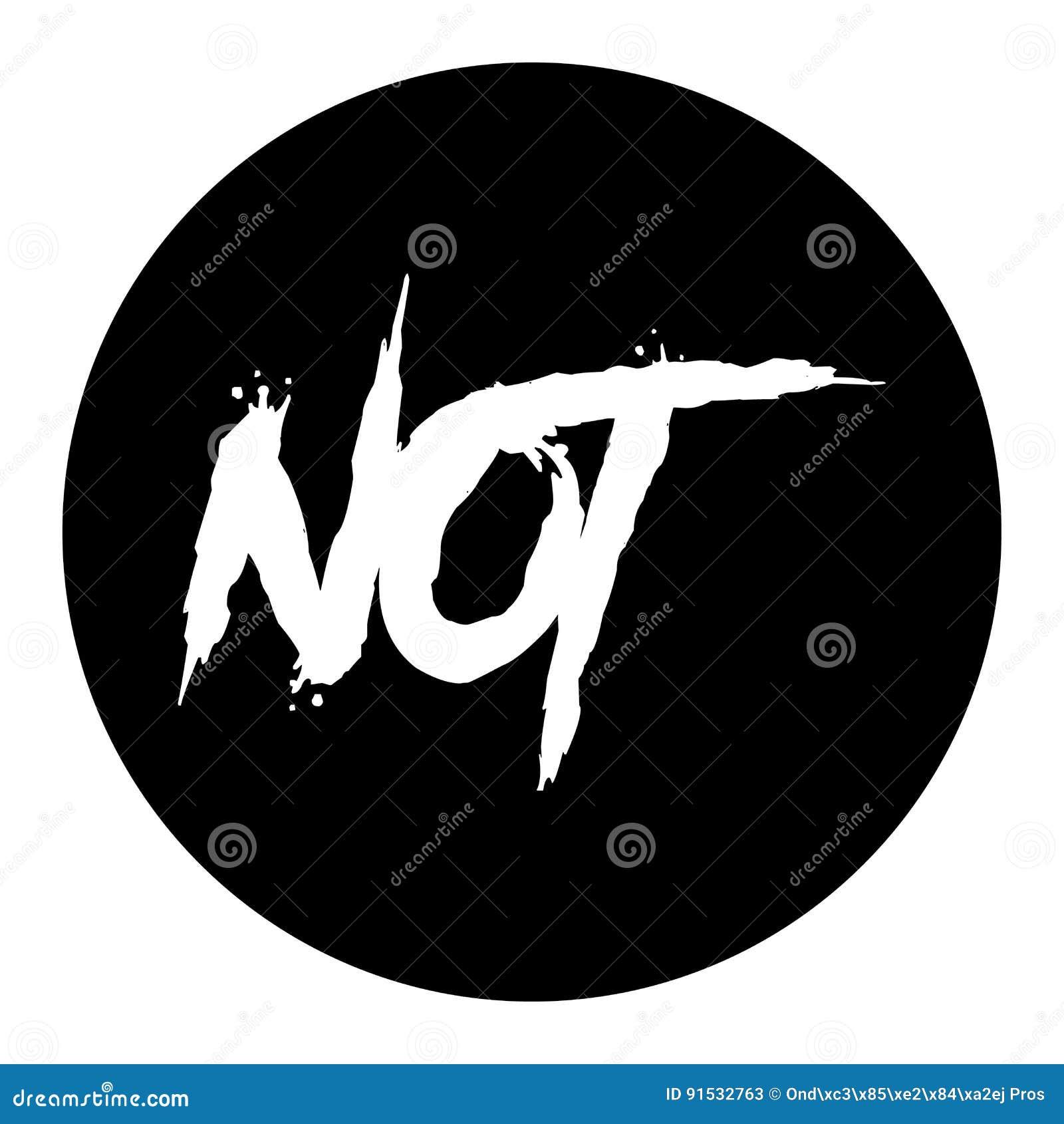 Черный значок, простая метка кнопки стиля