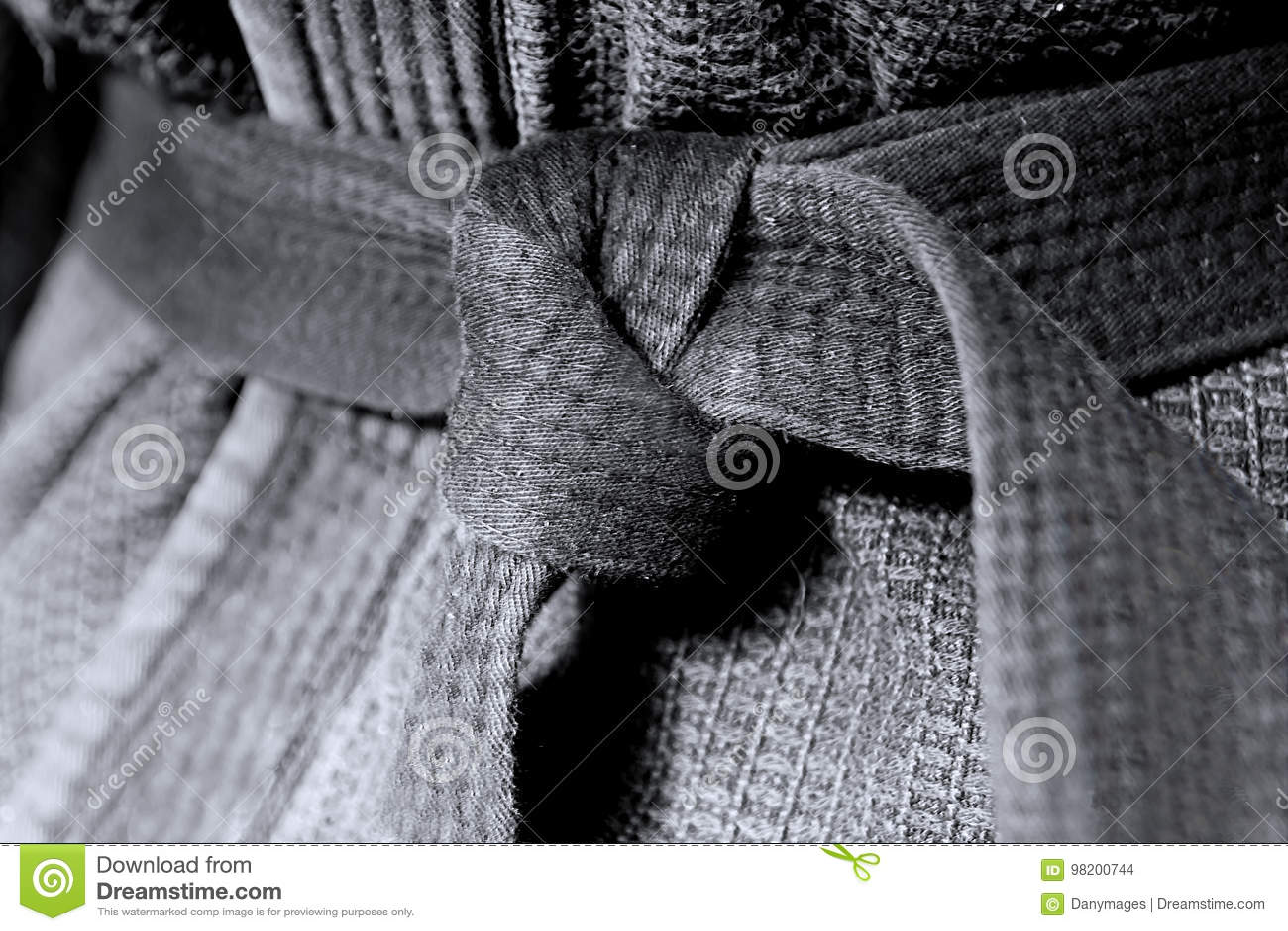 Download Черный пояс стоковое фото. изображение насчитывающей черный - 98200744